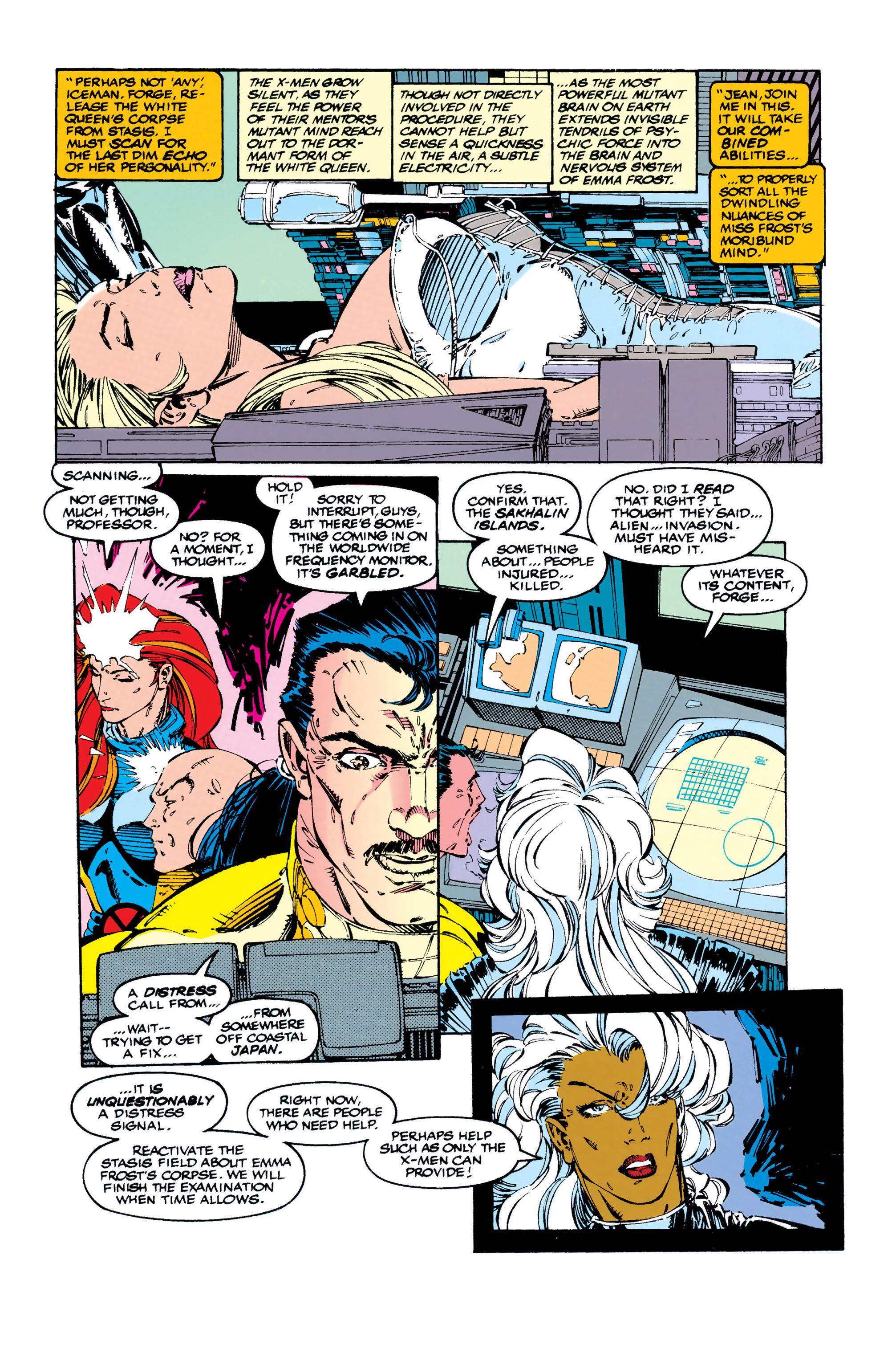 Read online Uncanny X-Men (1963) comic -  Issue #284 - 7