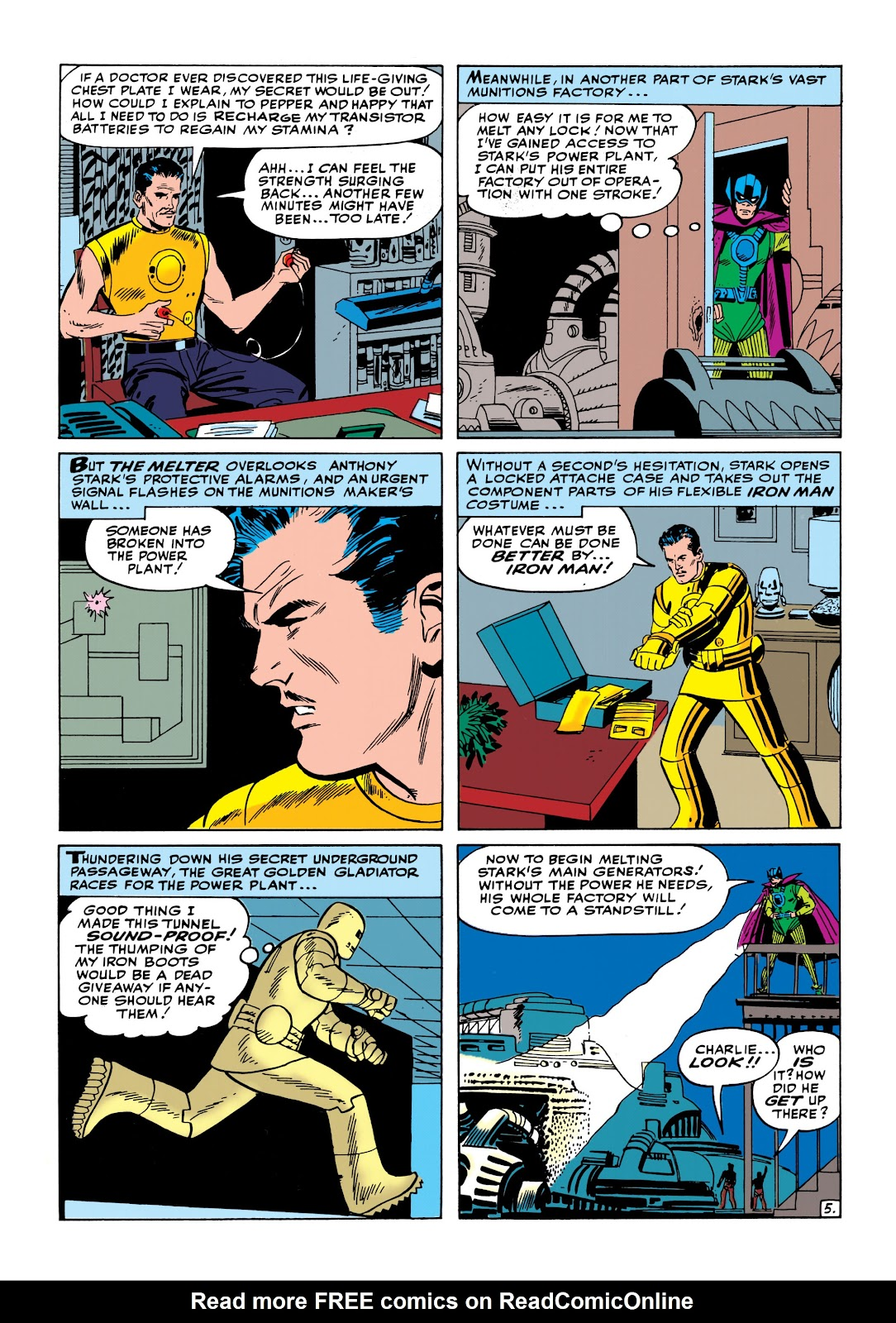Read online Marvel Masterworks: The Invincible Iron Man comic -  Issue # TPB 1 (Part 2) - 25