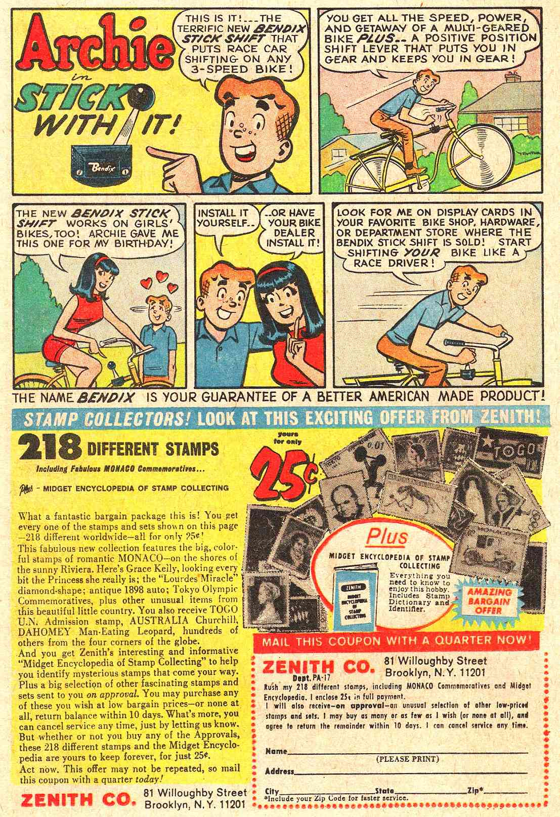 Read online Archie (1960) comic -  Issue #184 - 12
