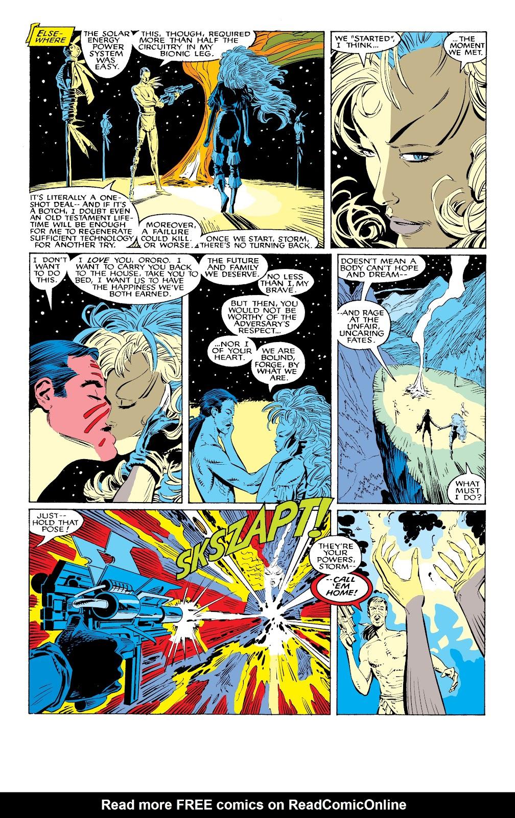 Read online X-Men Milestones: Fall of the Mutants comic -  Issue # TPB (Part 1) - 63