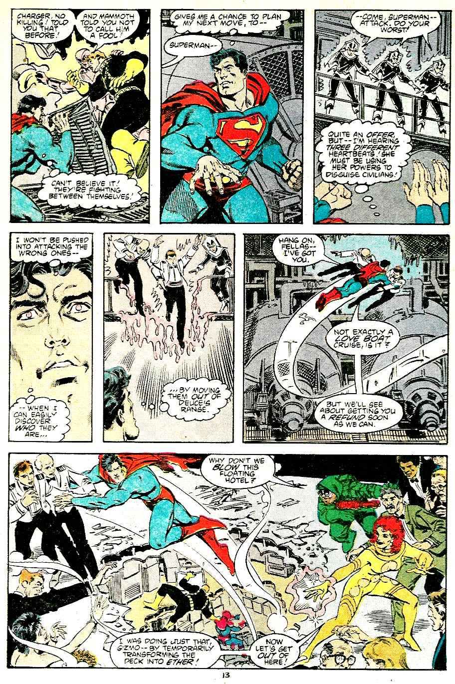 Adventures of Superman (1987) 430 Page 13