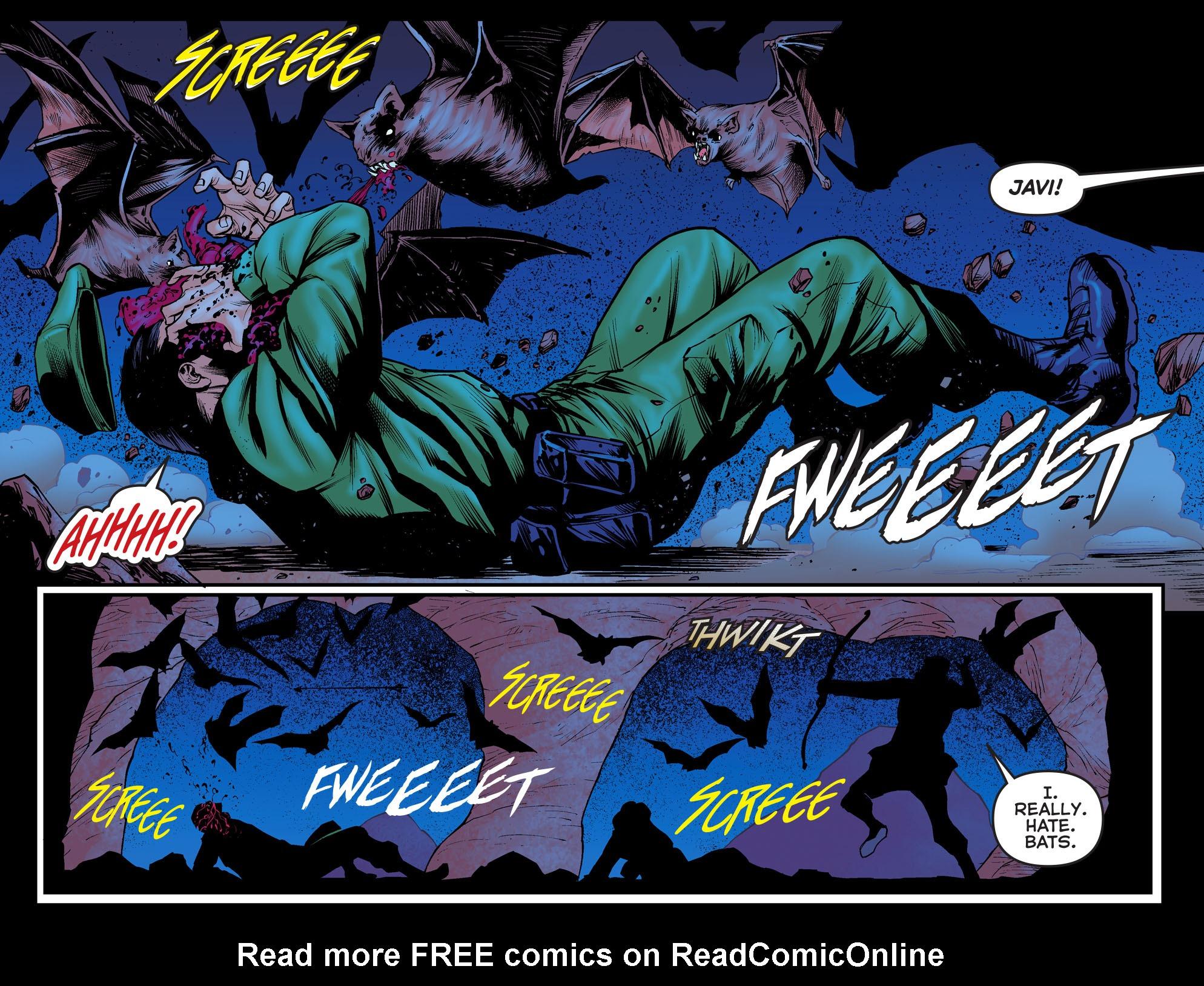 Read online Arrow: The Dark Archer comic -  Issue #3 - 18