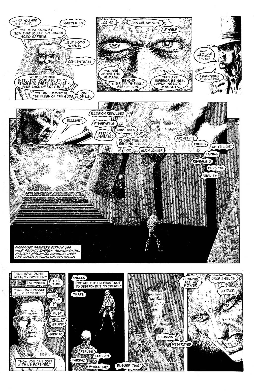 Read online The Adventures of Luther Arkwright comic -  Issue #9 - 11