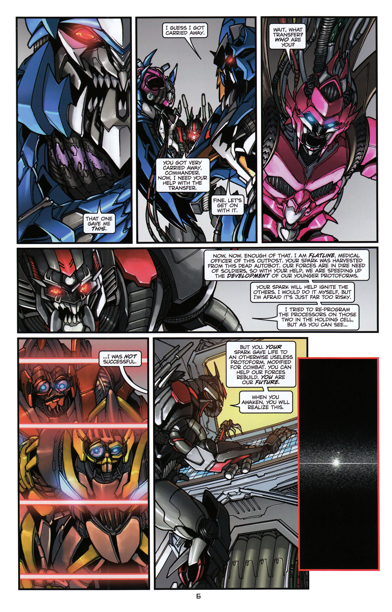 Read online Transformers: Tales of The Fallen comic -  Issue #6 - 8