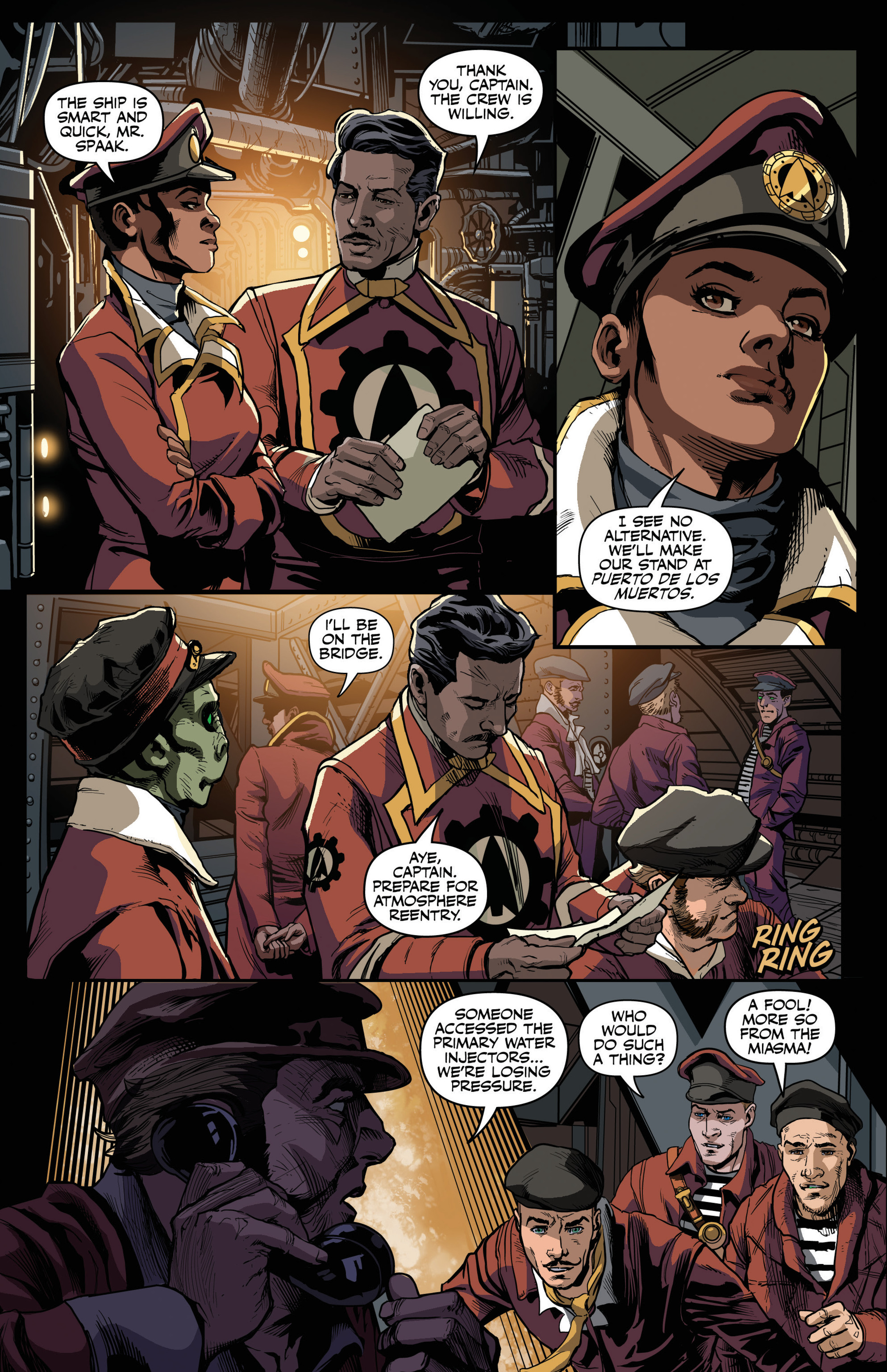Read online Airship Enterprise: The Infernal Machine comic -  Issue #3 - 12