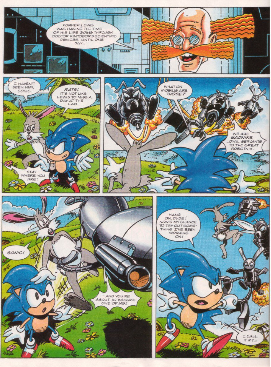 Read online Sonic the Comic comic -  Issue #26 - 21