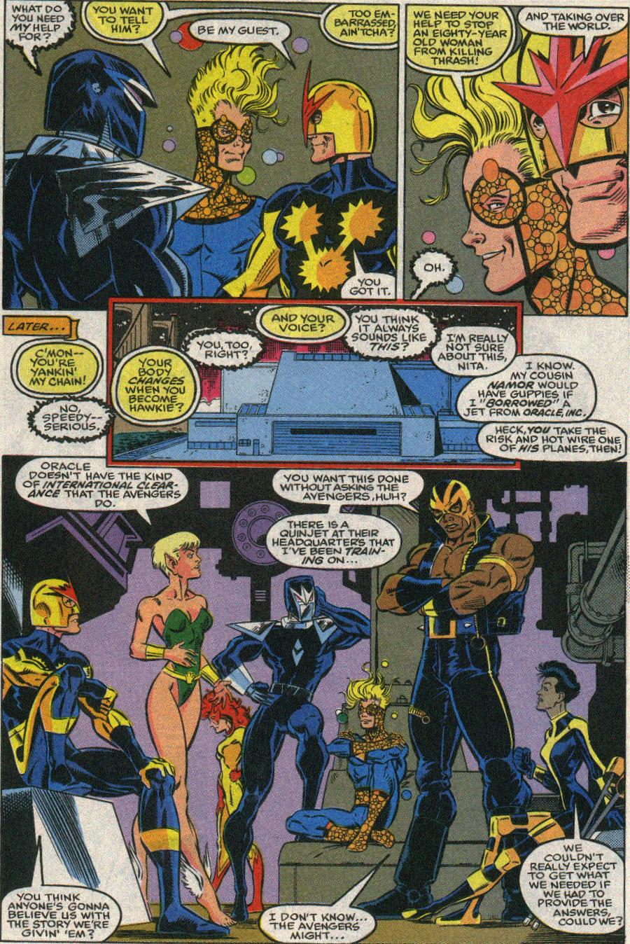 The New Warriors Issue #22 #26 - English 15