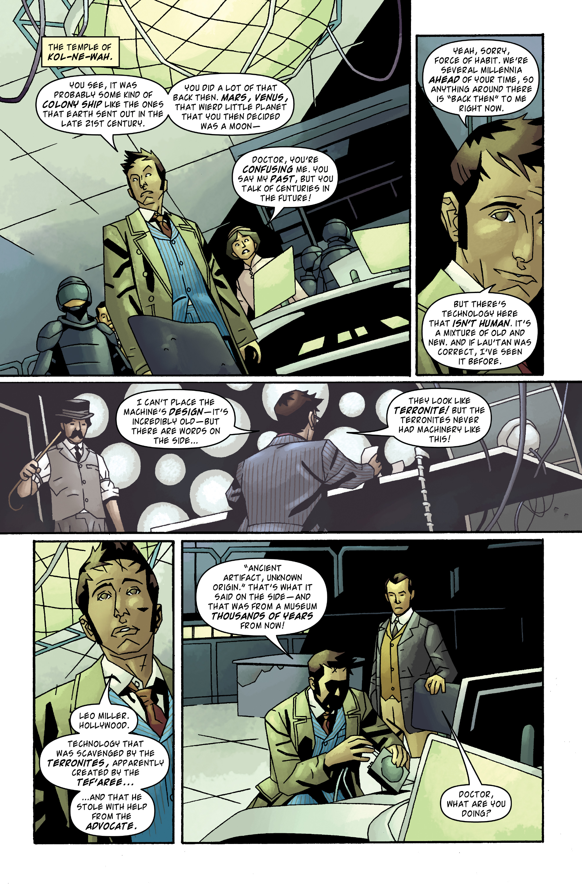 Read online Doctor Who: The Tenth Doctor Archives comic -  Issue #32 - 16
