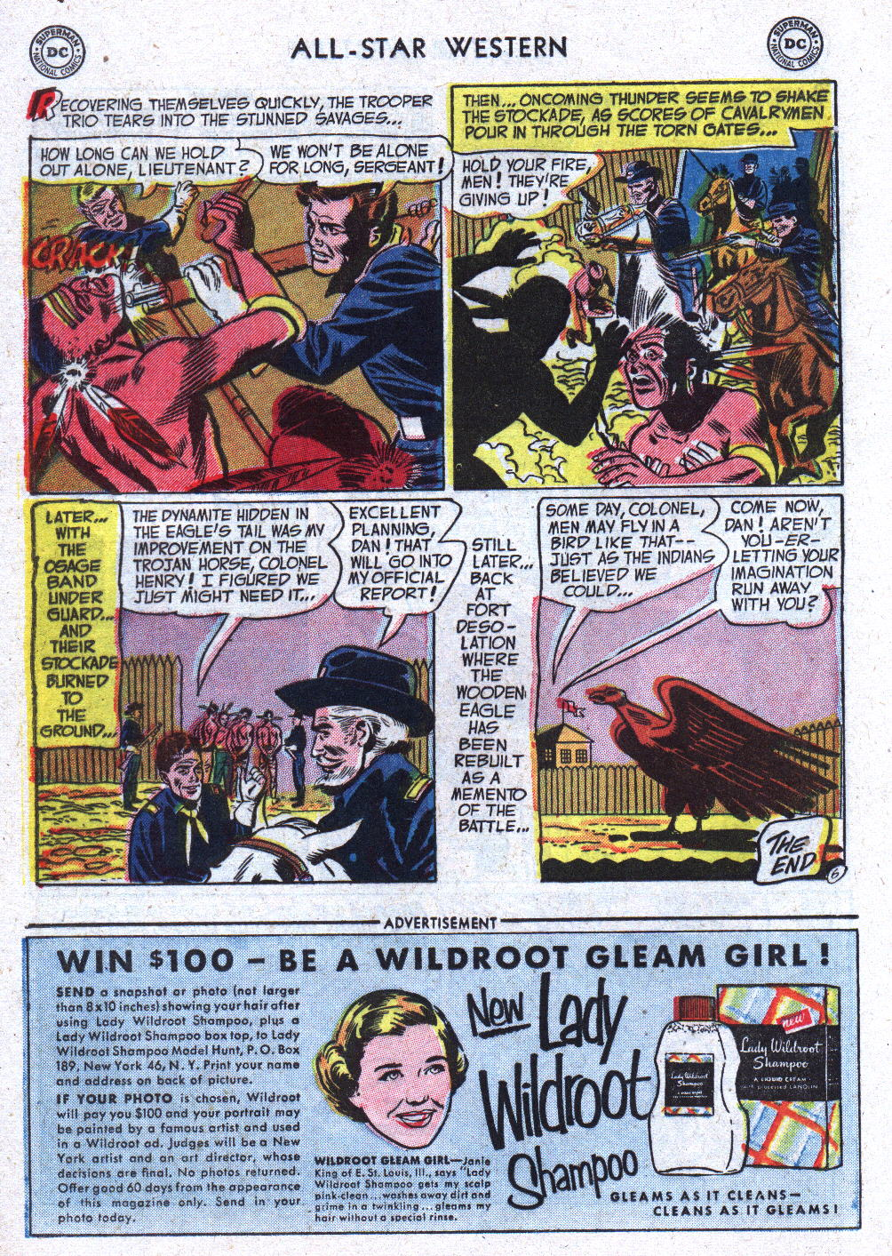 Read online All-Star Western (1951) comic -  Issue #71 - 24