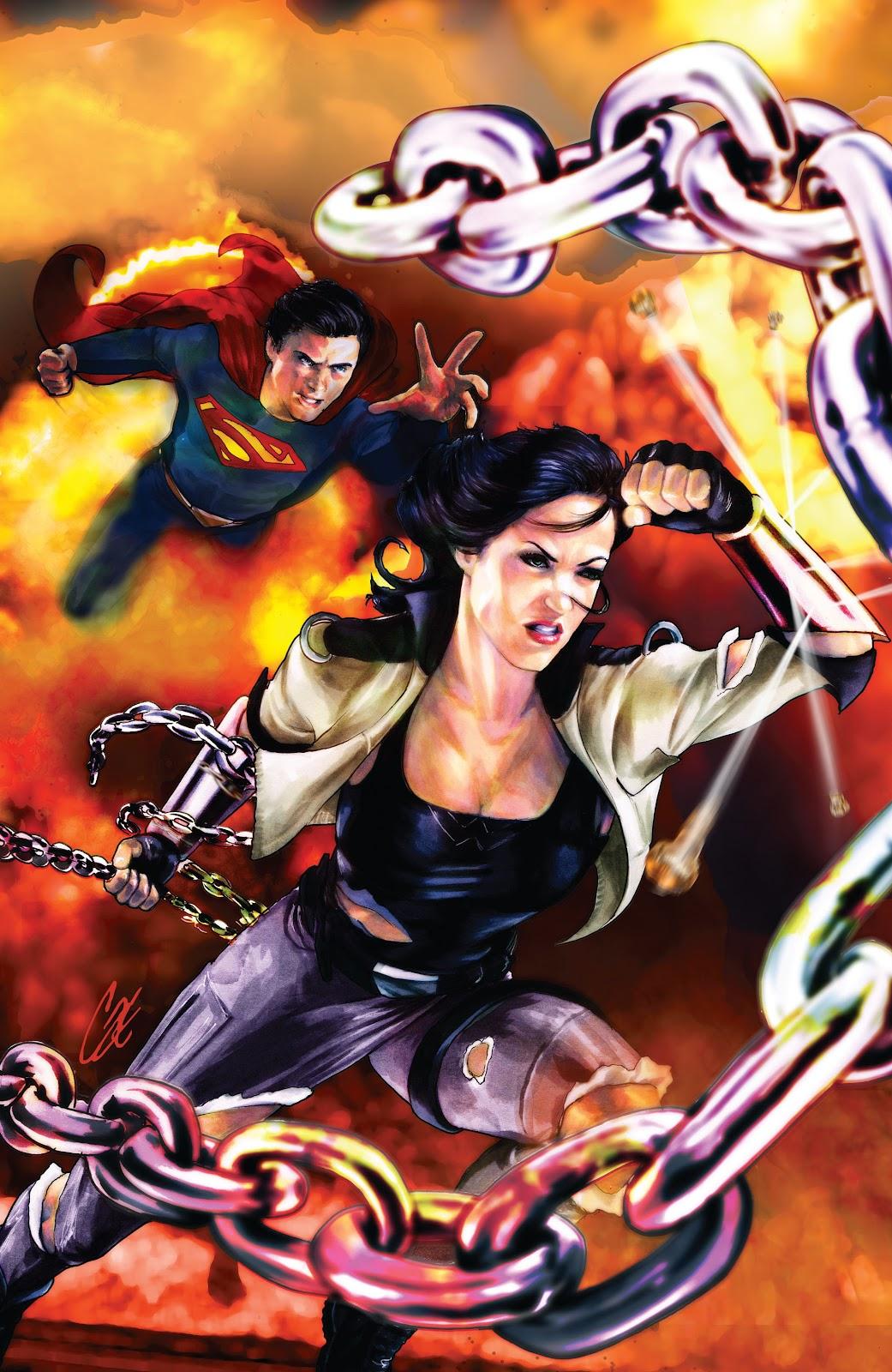 Read online Smallville Season 11 [II] comic -  Issue # TPB 5 - 37