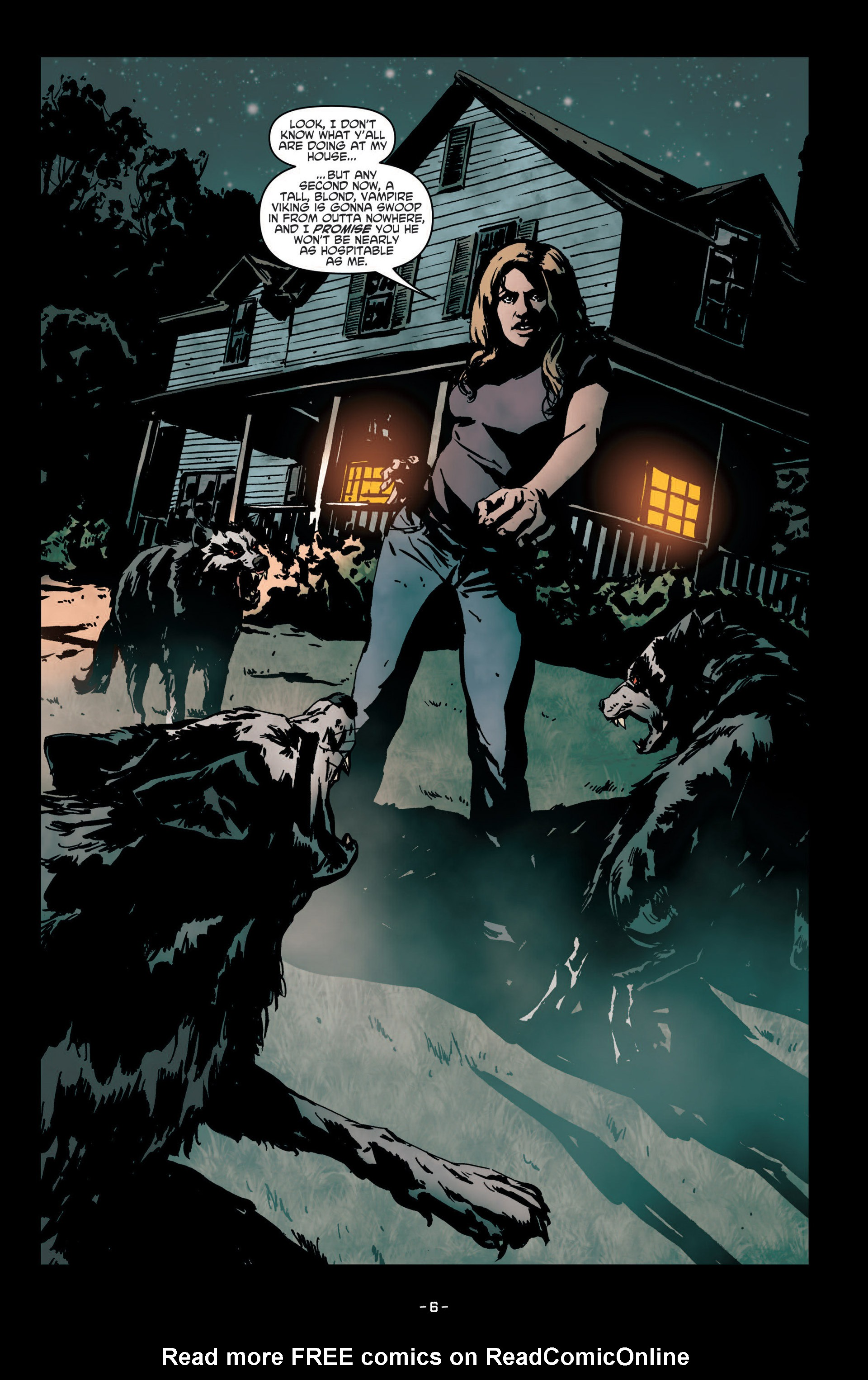 Read online True Blood (2012) comic -  Issue #7 - 8