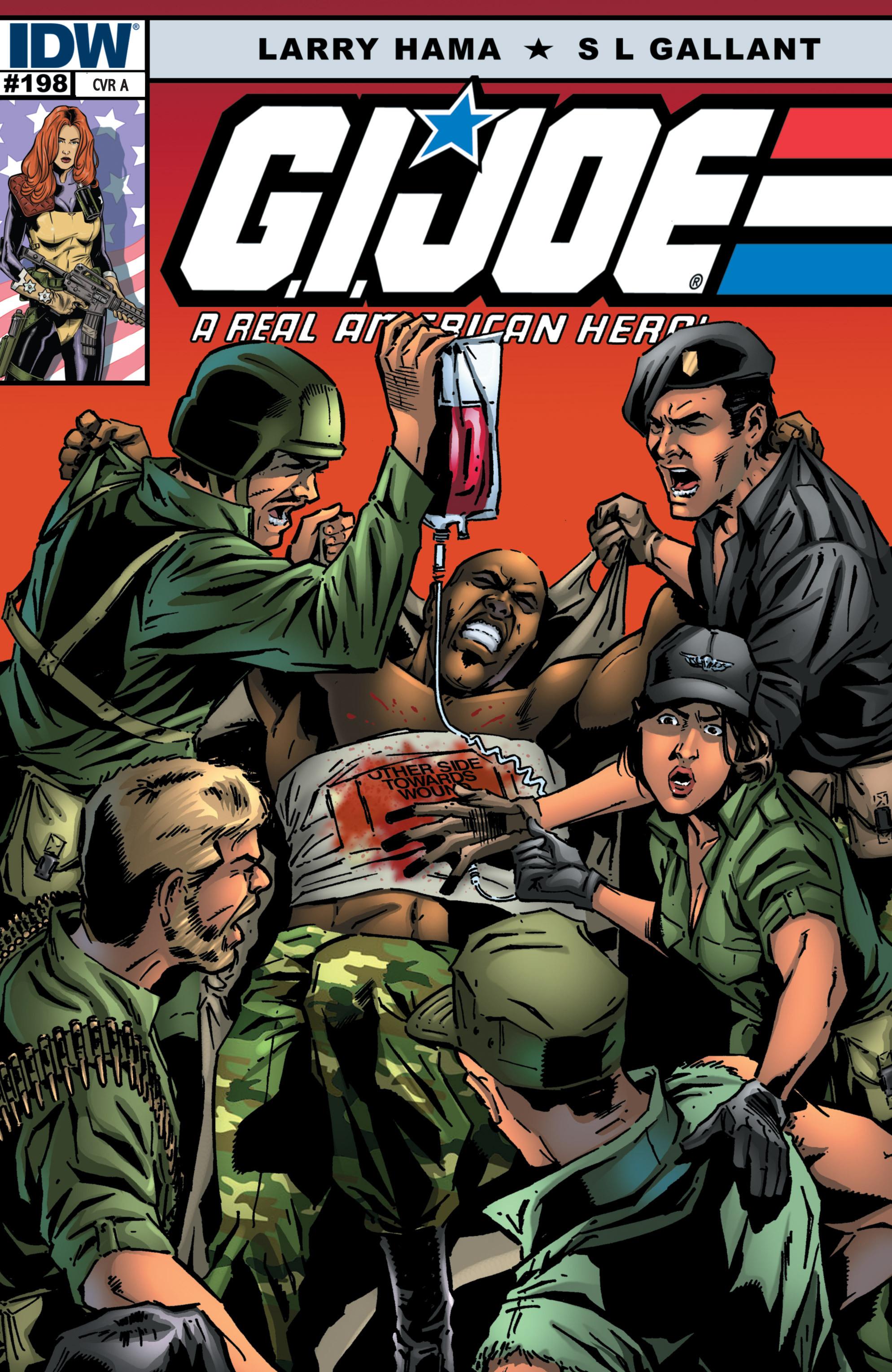 G.I. Joe: A Real American Hero 198 Page 1