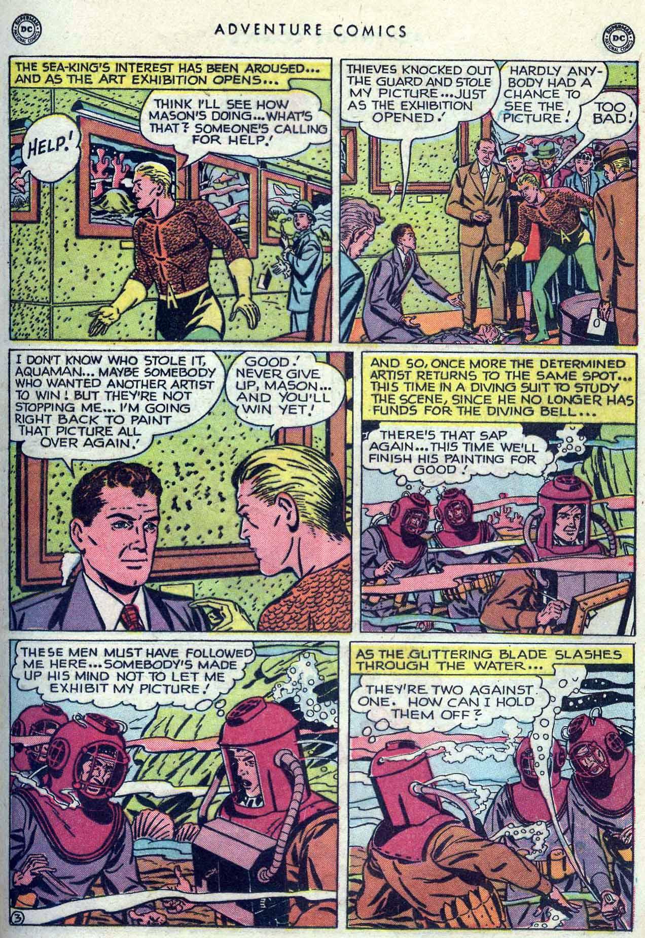Read online Adventure Comics (1938) comic -  Issue #149 - 17