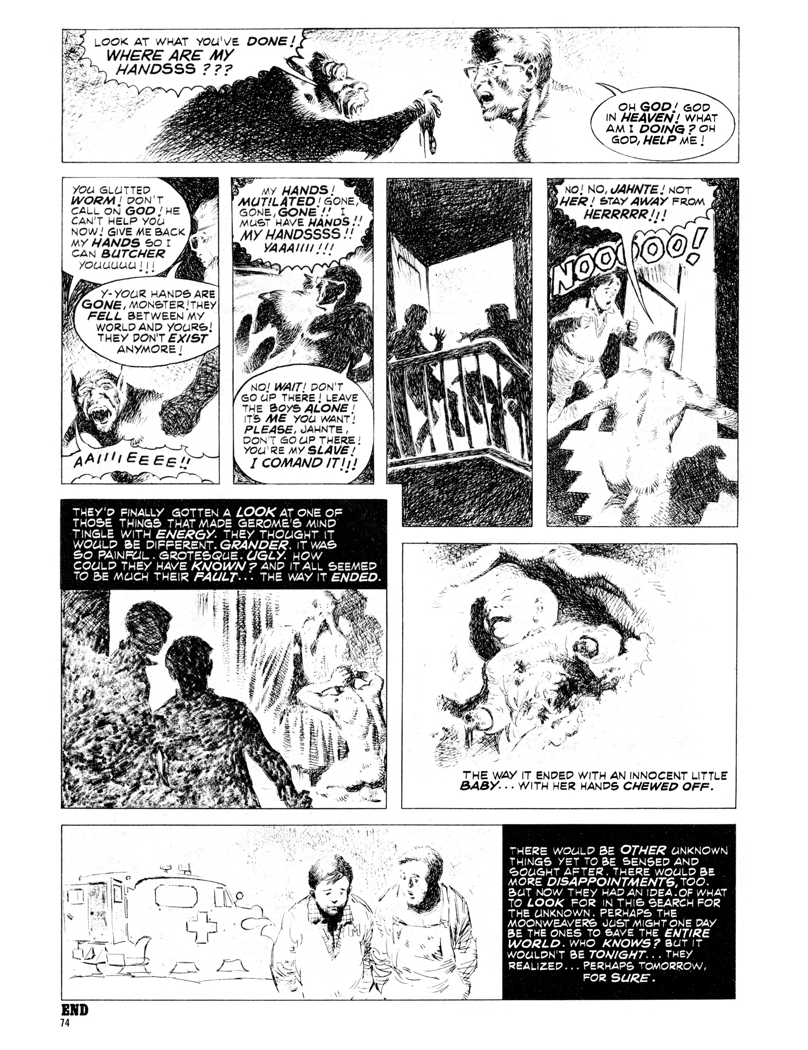 Read online Eerie Archives comic -  Issue # TPB 16 - 75