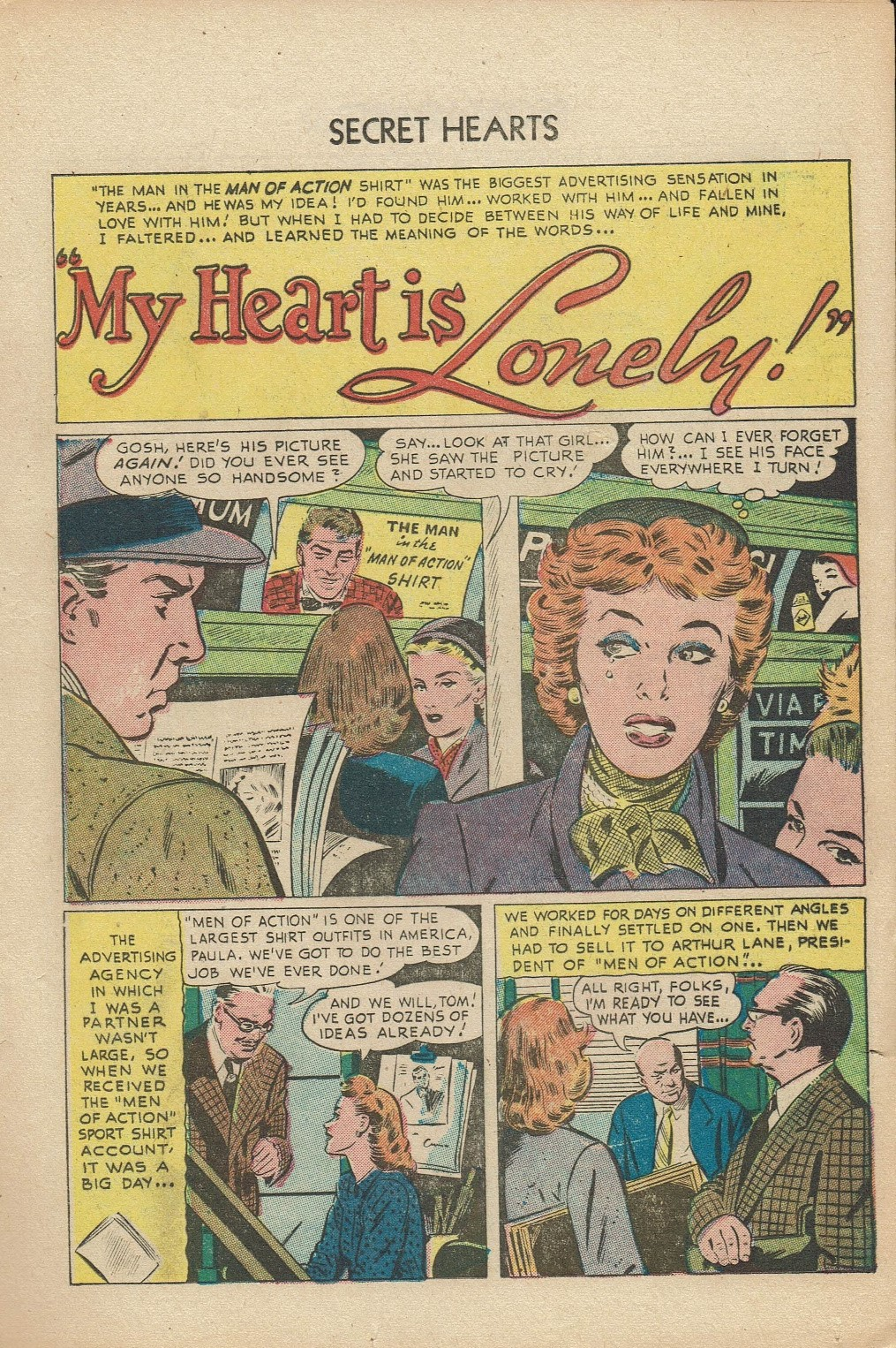 Read online Secret Hearts comic -  Issue #14 - 17