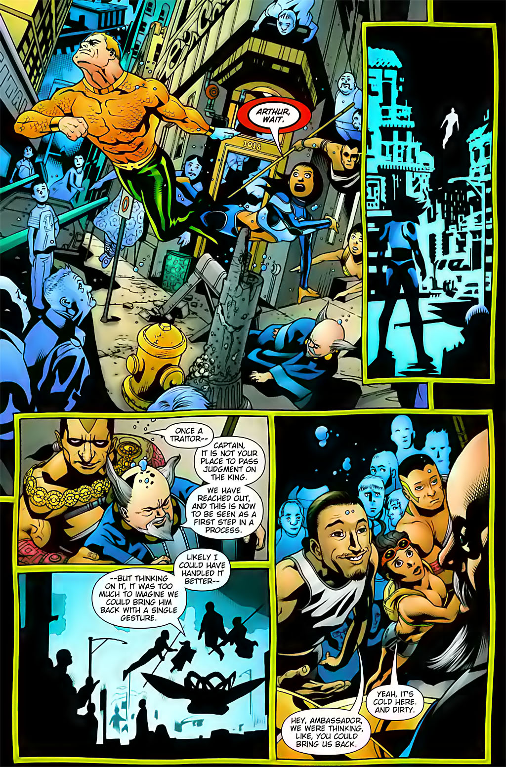 Read online Aquaman (2003) comic -  Issue #29 - 10
