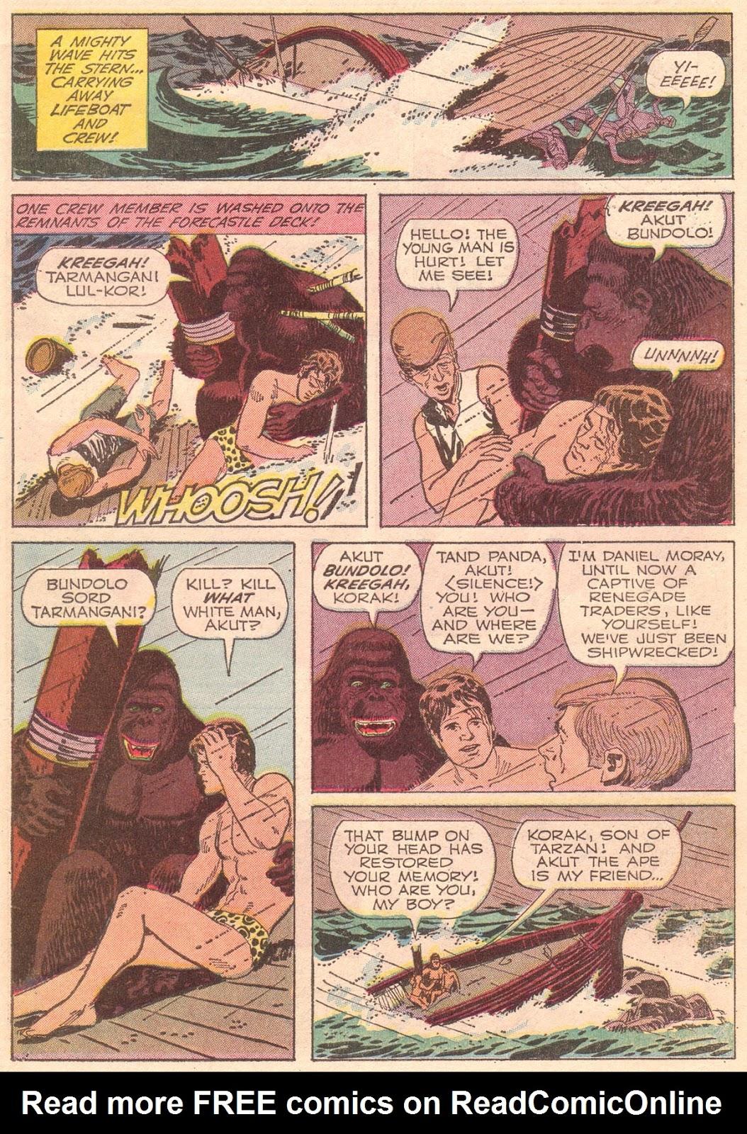 Korak, Son of Tarzan (1964) issue 35 - Page 7