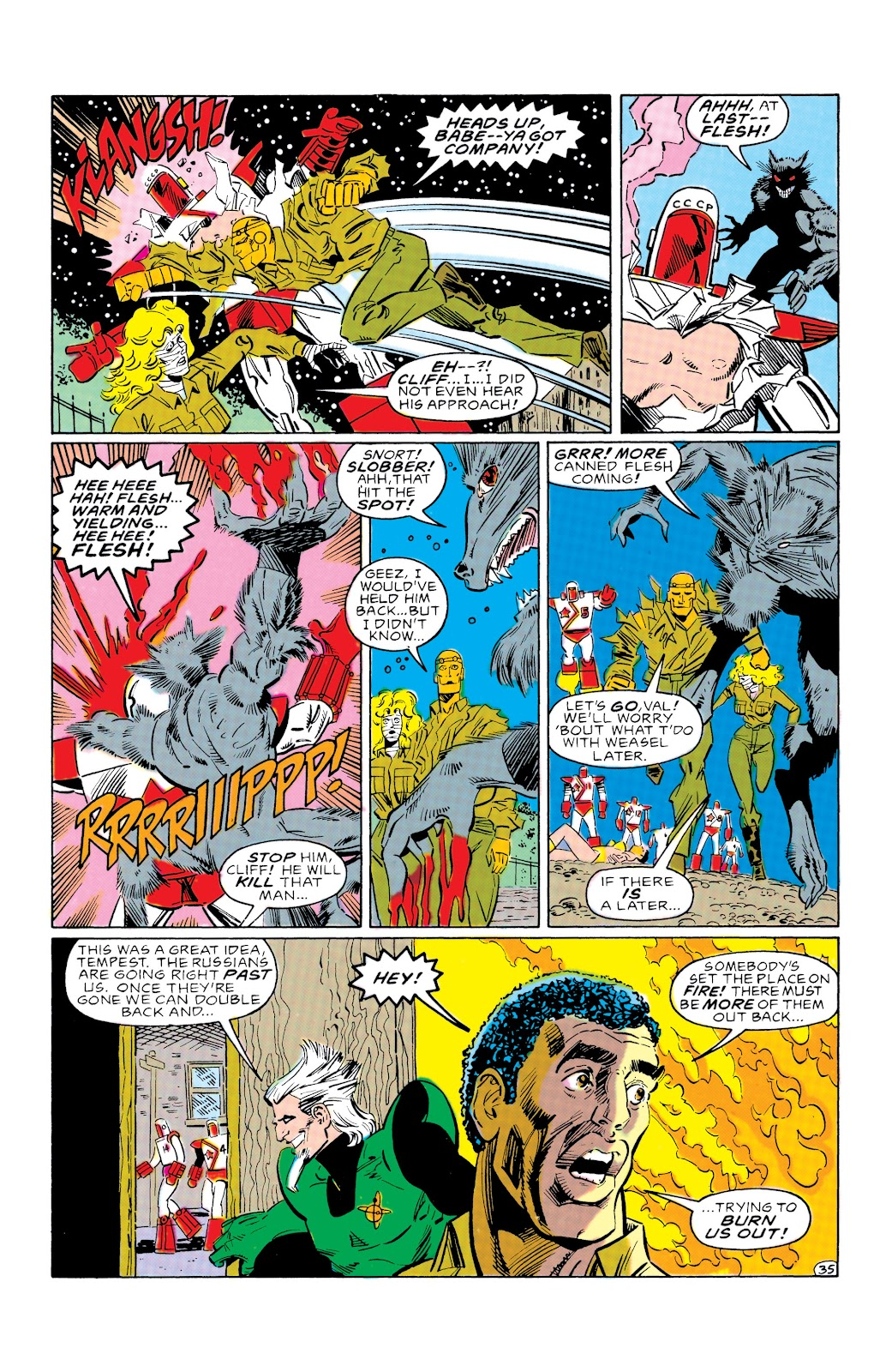 Doom Patrol and Suicide Squad Special issue Special 1 - Page 34