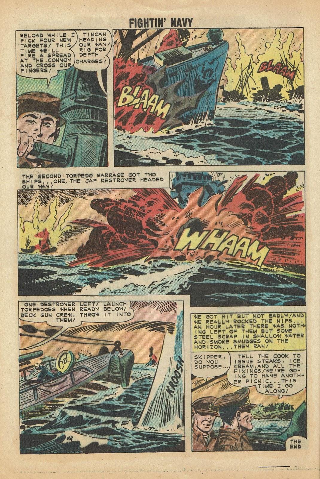Read online Fightin' Navy comic -  Issue #97 - 8