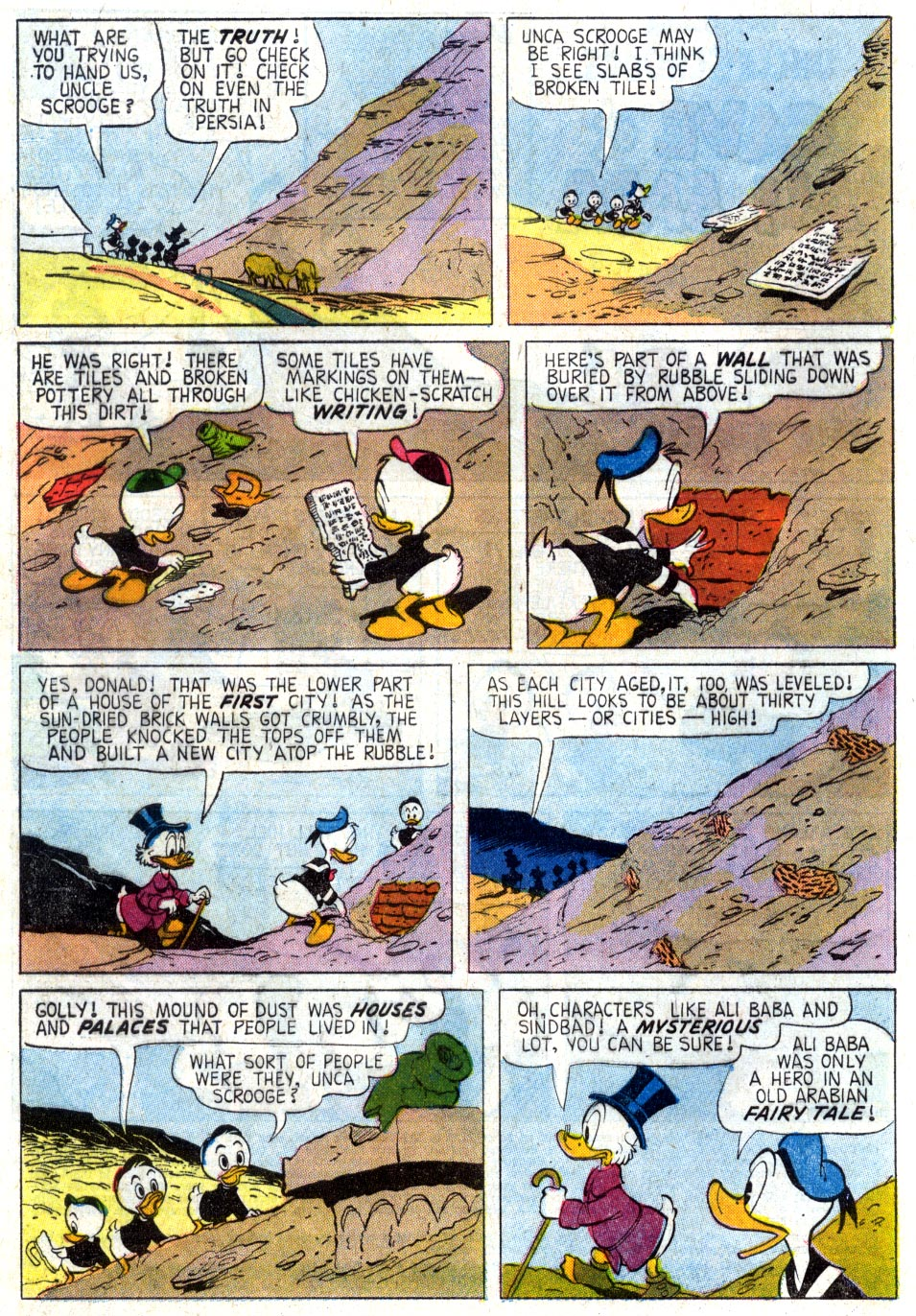 Read online Uncle Scrooge (1953) comic -  Issue #37 - 4