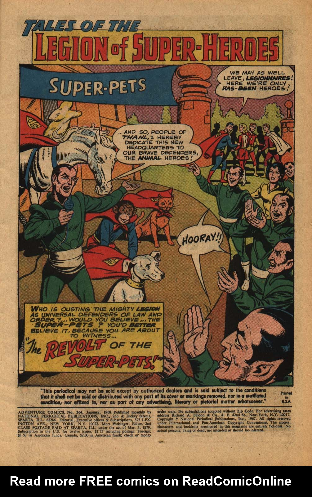 Read online Adventure Comics (1938) comic -  Issue #364 - 3