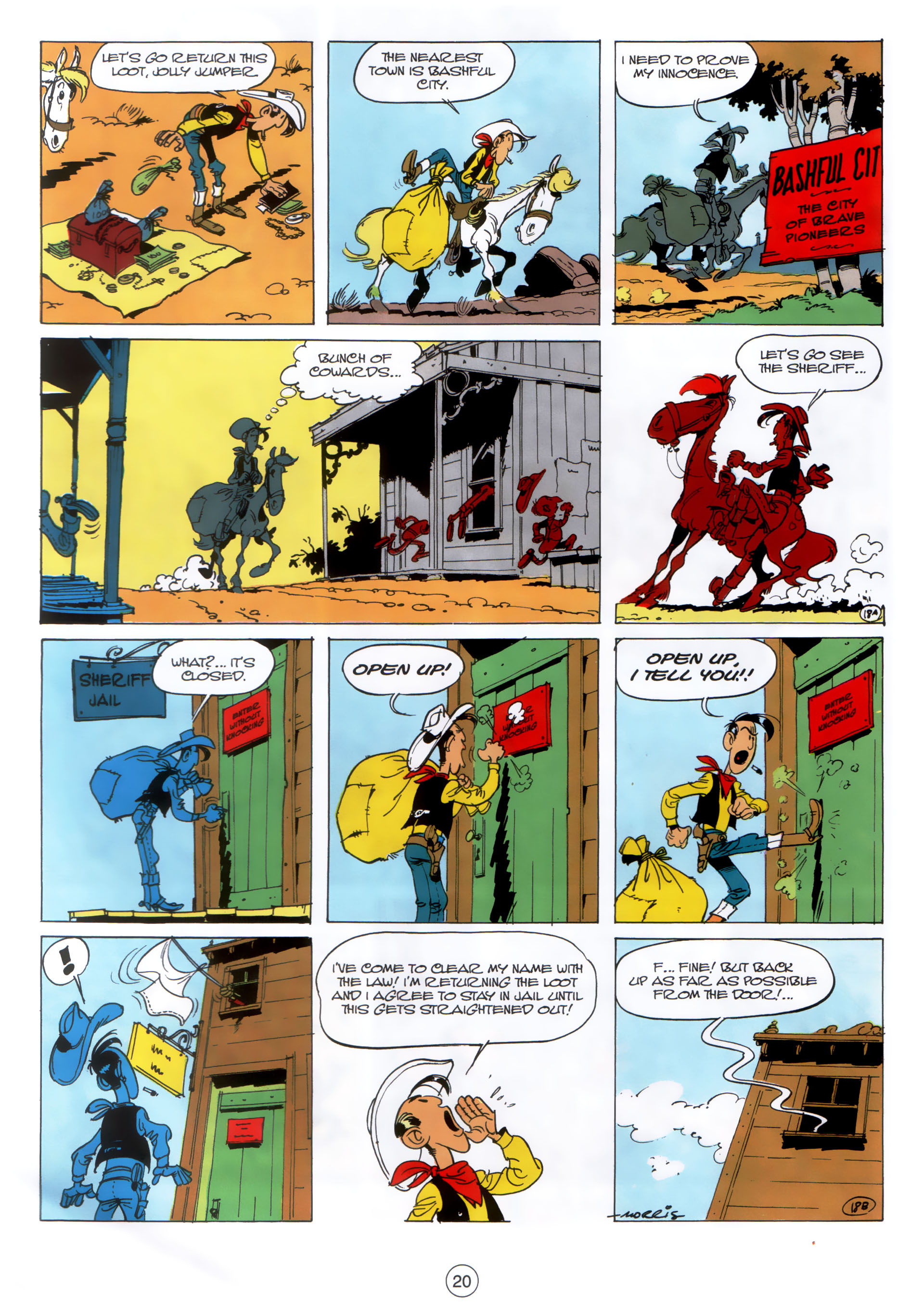 Read online A Lucky Luke Adventure comic -  Issue #30 - 19