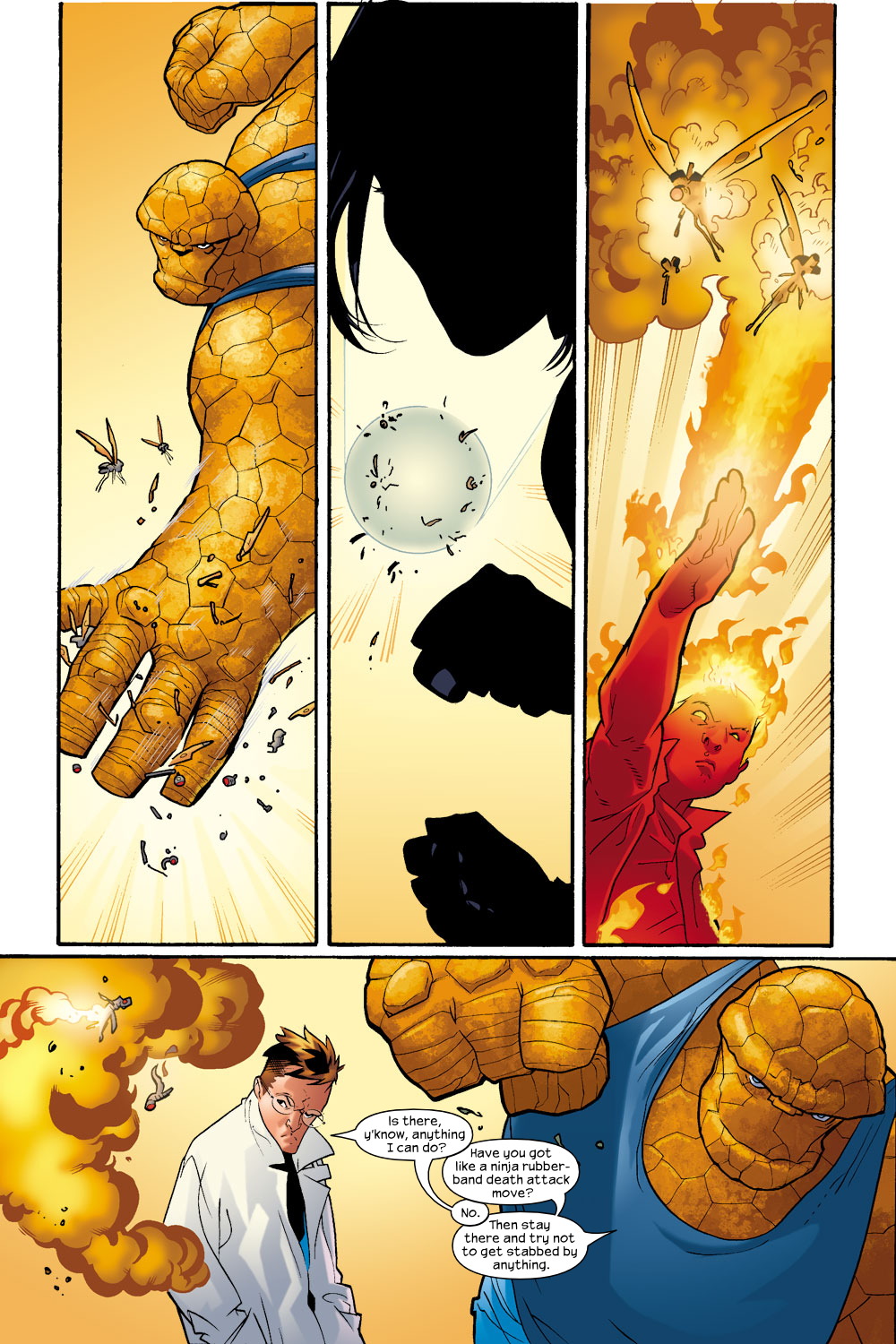 Read online Ultimate Fantastic Four (2004) comic -  Issue #9 - 10