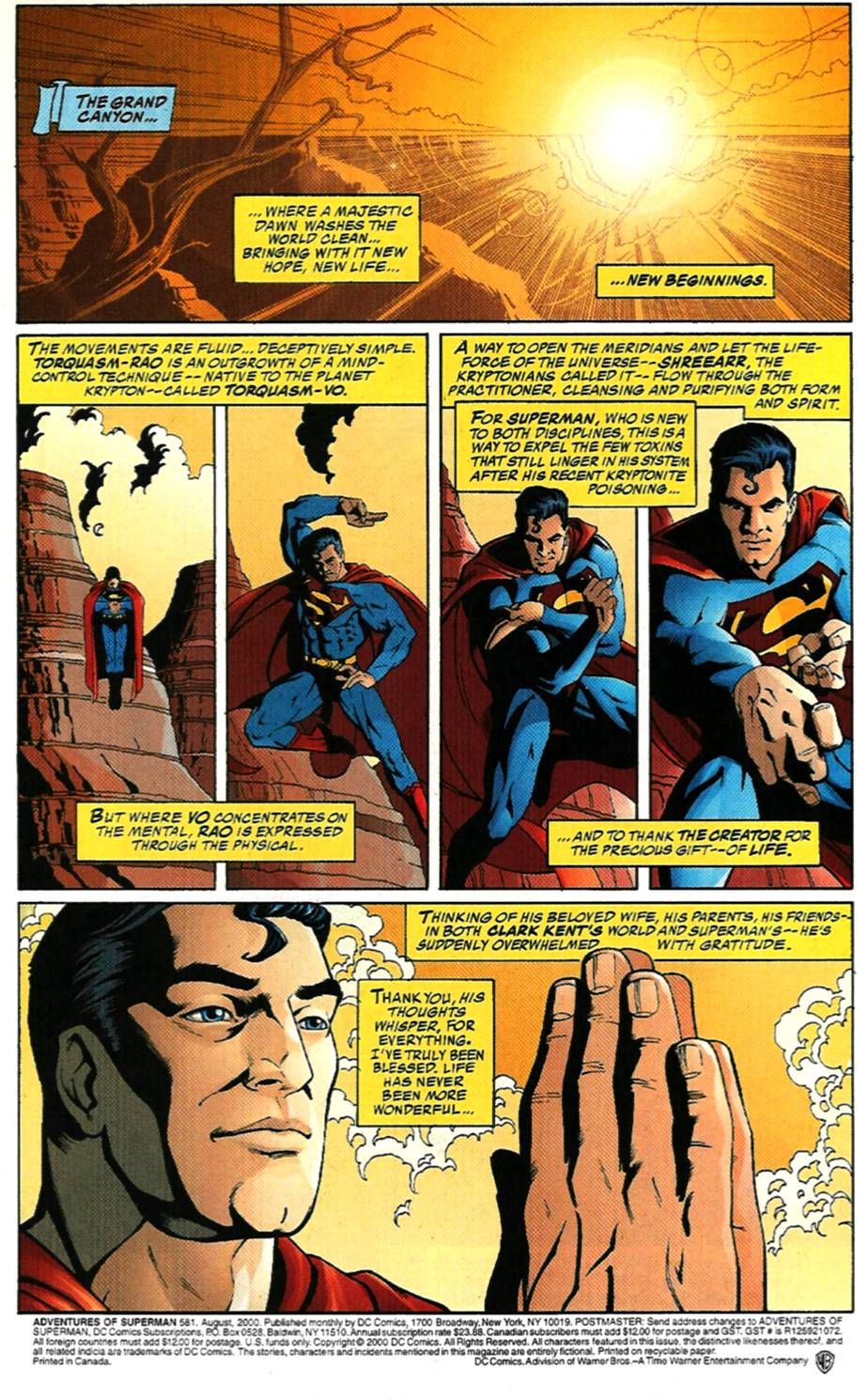 Read online Adventures of Superman (1987) comic -  Issue #581 - 2