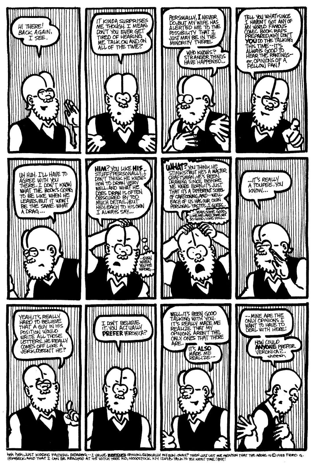 Read online The Nearly Complete Essential Hembeck Archives Omnibus comic -  Issue # TPB (Part 4) - 45
