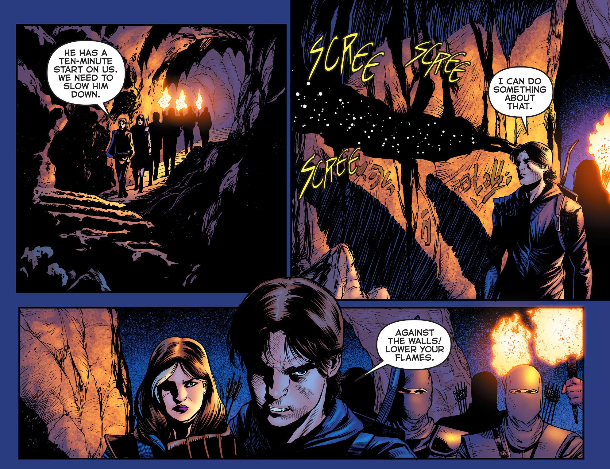 Read online Arrow: The Dark Archer comic -  Issue #3 - 13