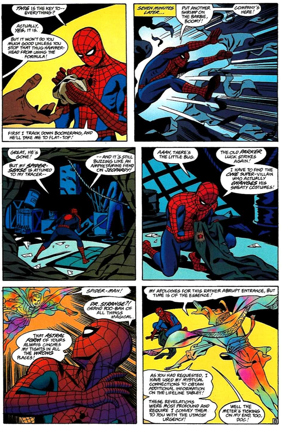 Read online Spider-Man: Lifeline comic -  Issue #3 - 9