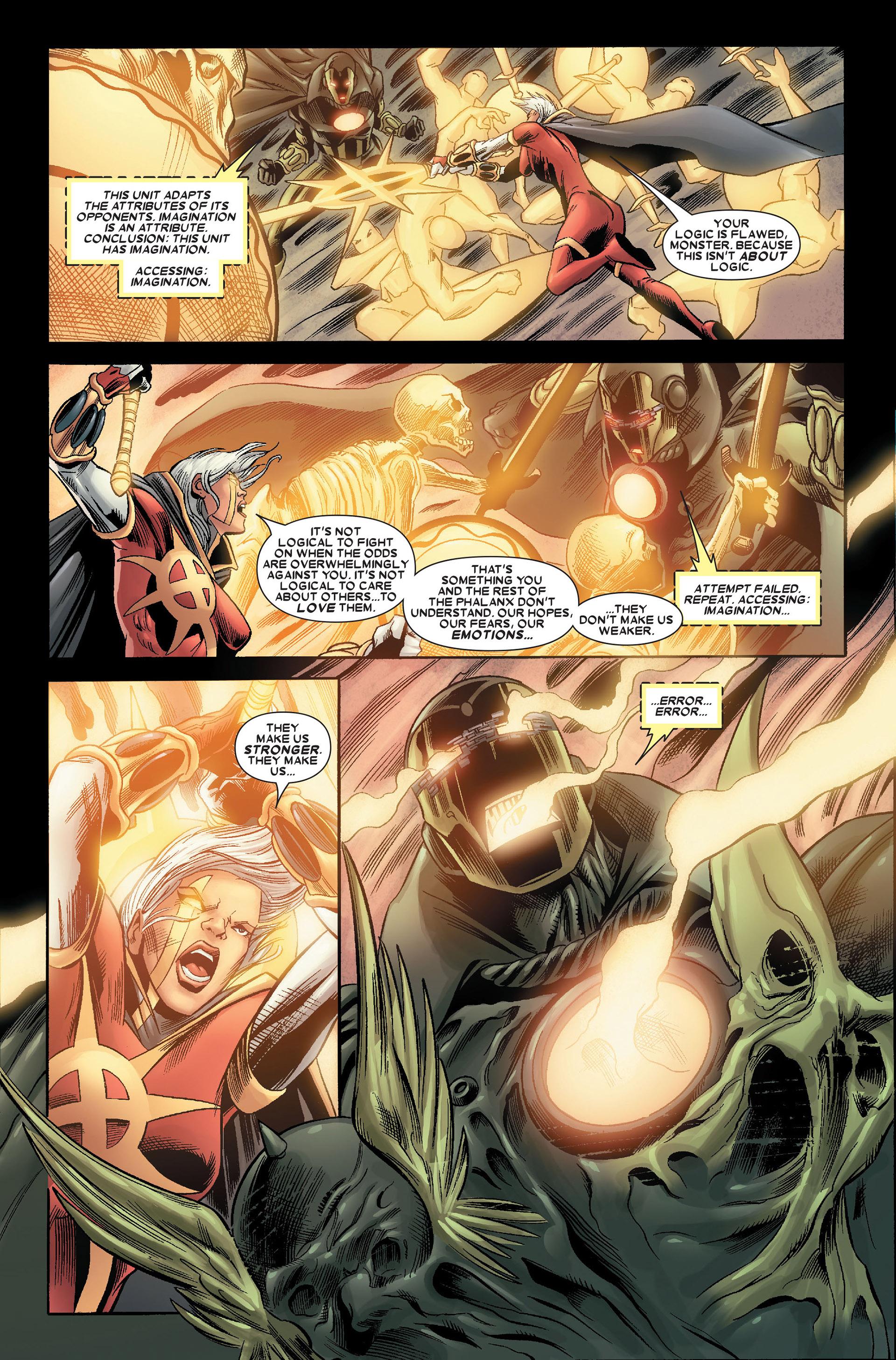 Read online Annihilation: Conquest - Quasar comic -  Issue #4 - 12