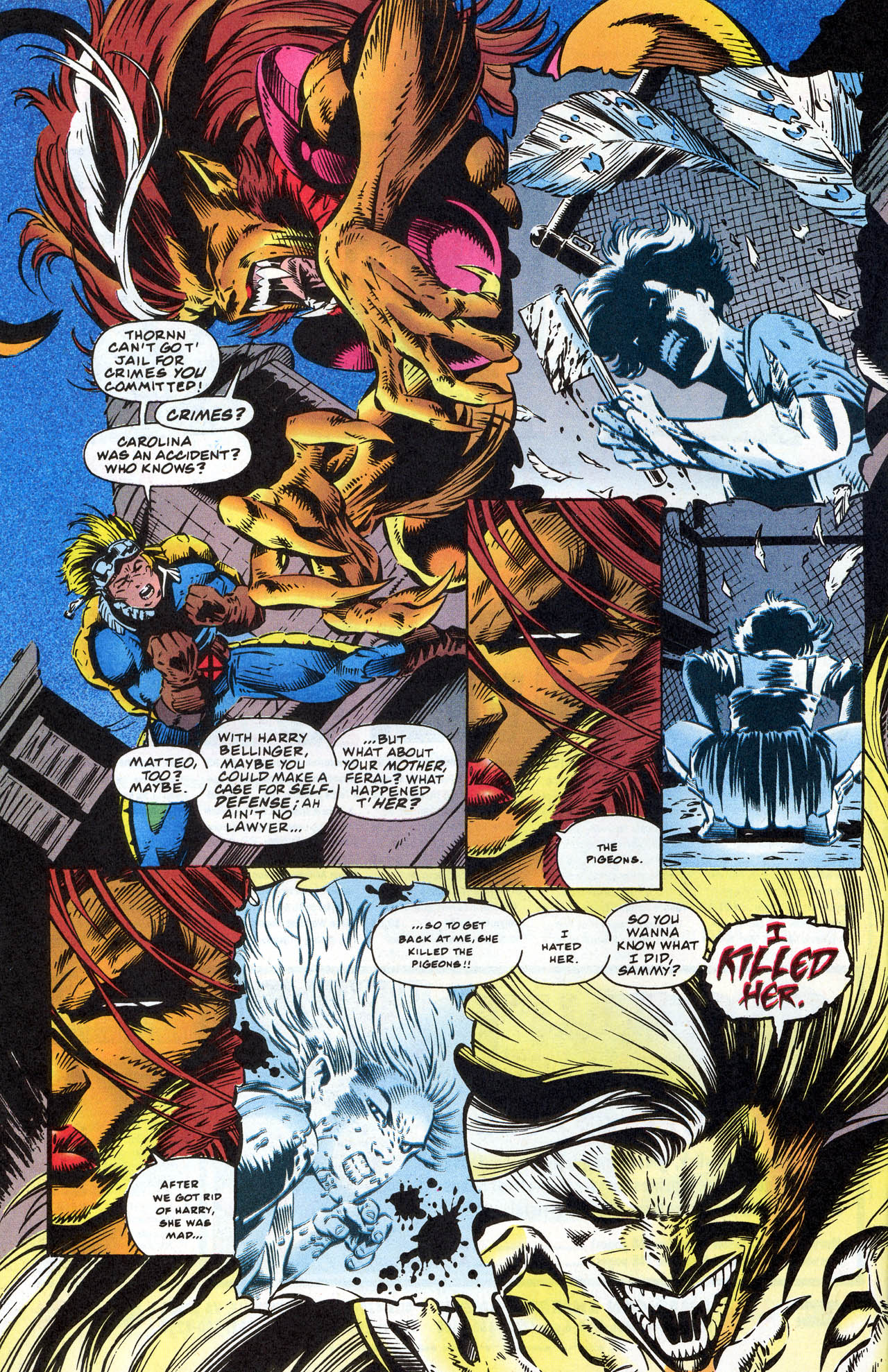Read online X-Force (1991) comic -  Issue #41 - 28