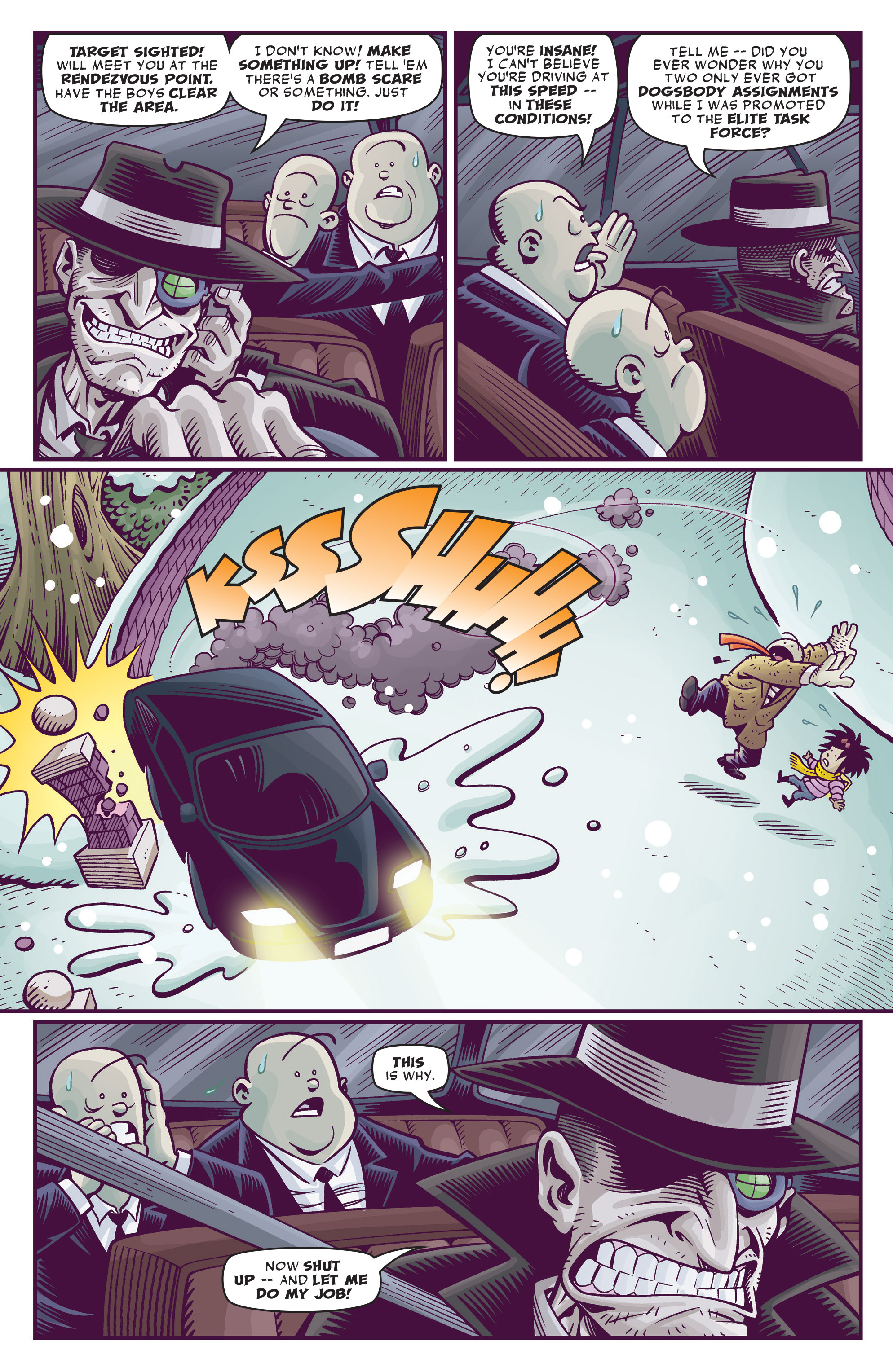 Read online Abigail And The Snowman comic -  Issue #4 - 11