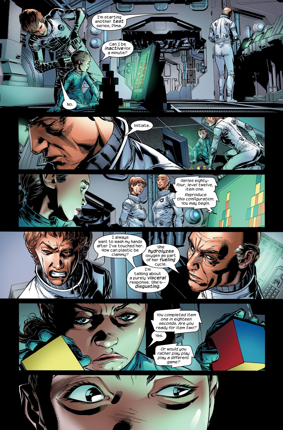 Read online Ultimate Vision comic -  Issue #2 - 15