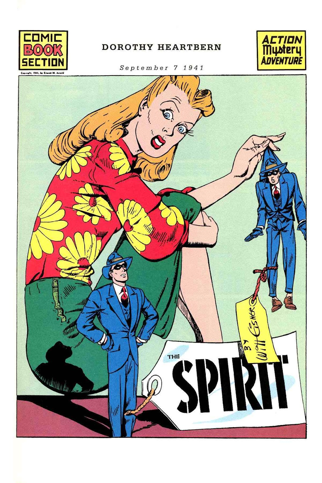 Read online Will Eisner's The Spirit Archives comic -  Issue # TPB 3 (Part 1) - 74