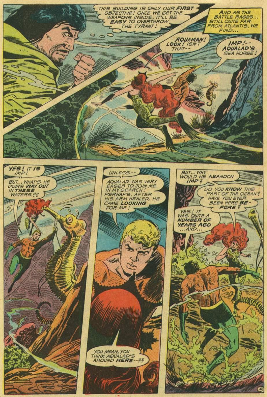 Read online Aquaman (1962) comic -  Issue #47 - 7