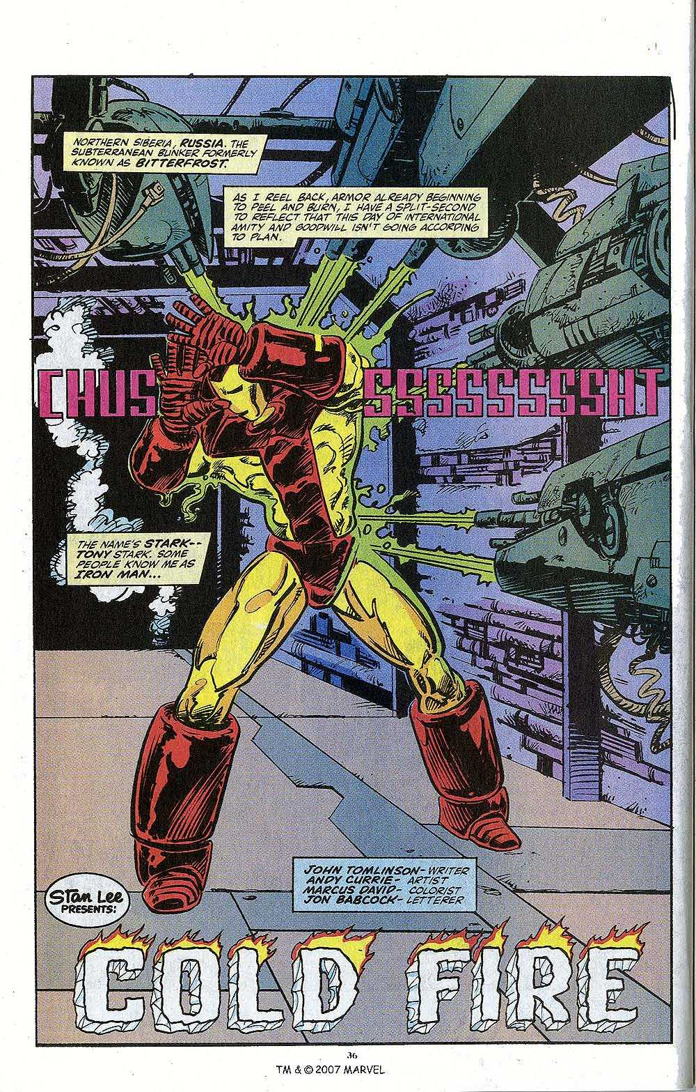 Iron Man Annual issue 13 - Page 38
