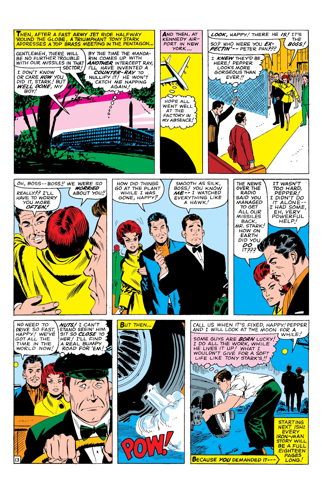 Read online Marvel Masterworks: The Invincible Iron Man comic -  Issue # TPB 2 (Part 1) - 74