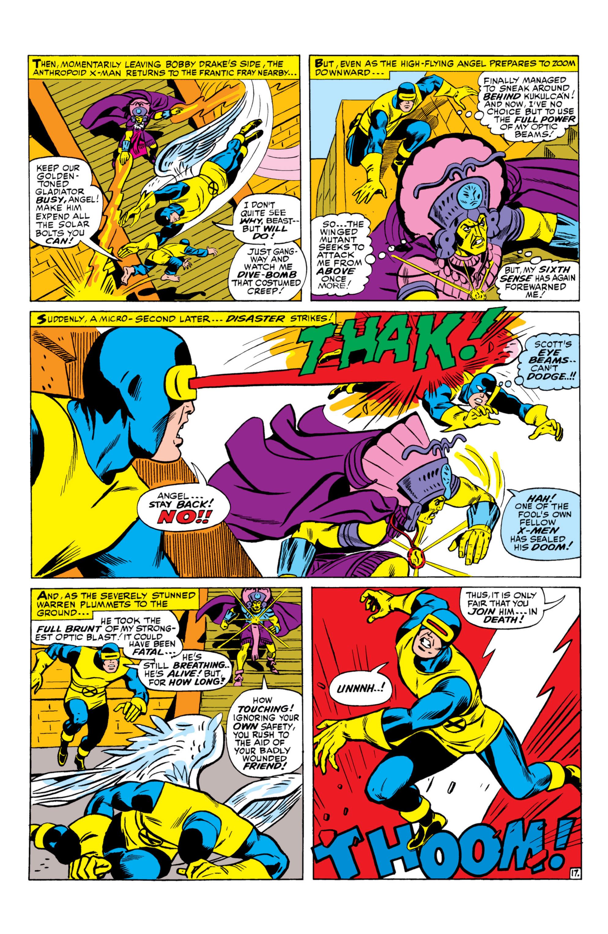 Read online Uncanny X-Men (1963) comic -  Issue #26 - 18
