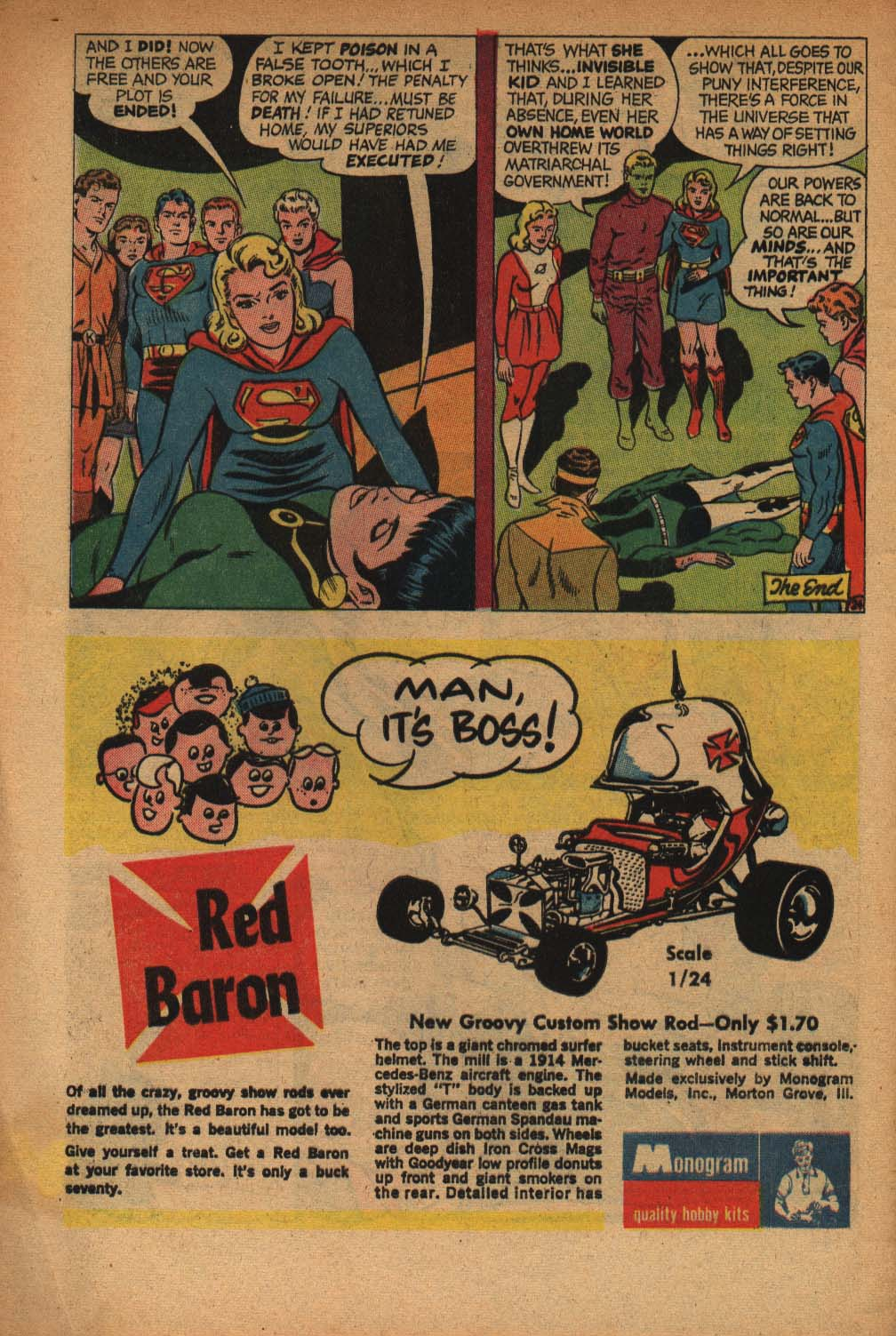 Read online Adventure Comics (1938) comic -  Issue #368 - 32