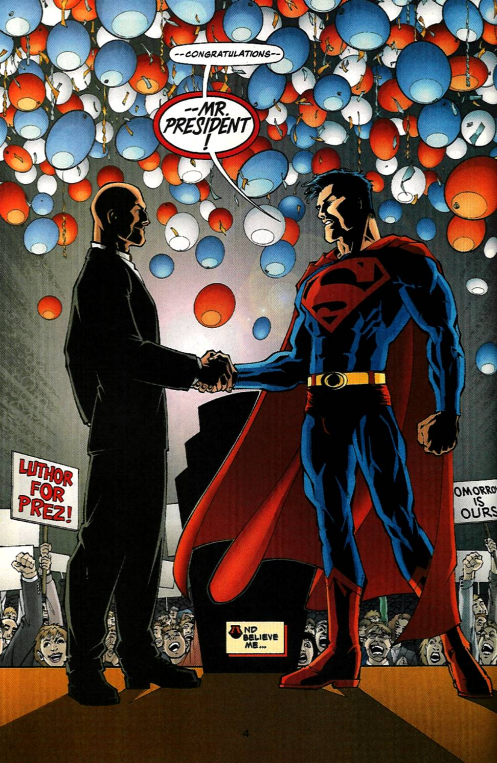 Read online Adventures of Superman (1987) comic -  Issue #586 - 5