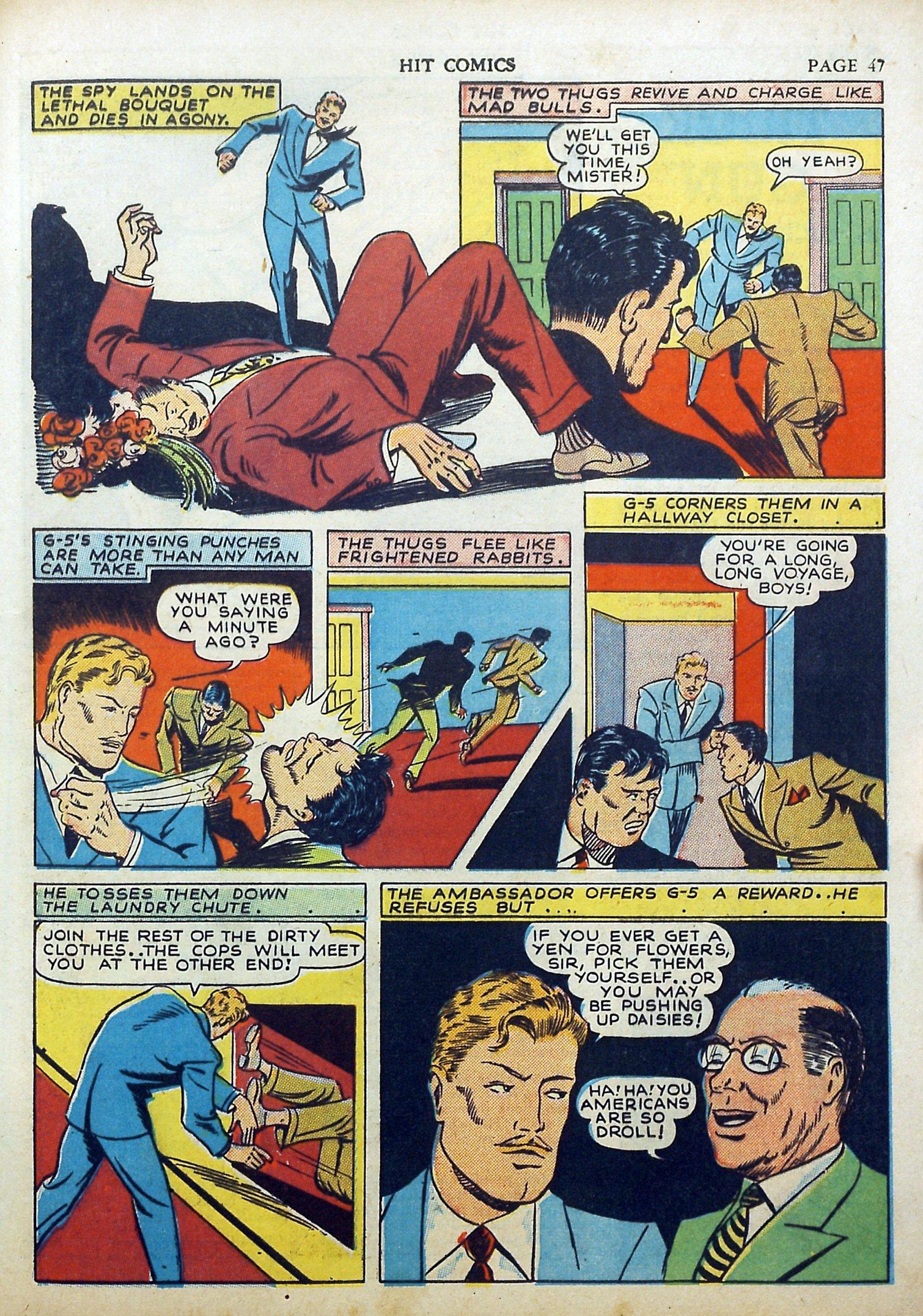 Read online Hit Comics comic -  Issue #17 - 49