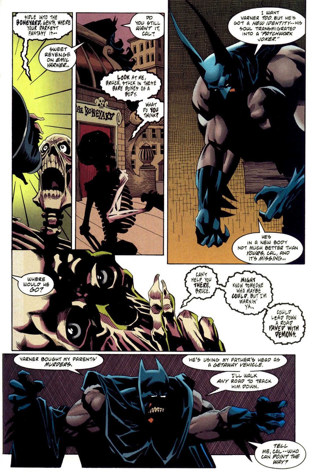 Read online Batman: Haunted Gotham comic -  Issue #2 - 33