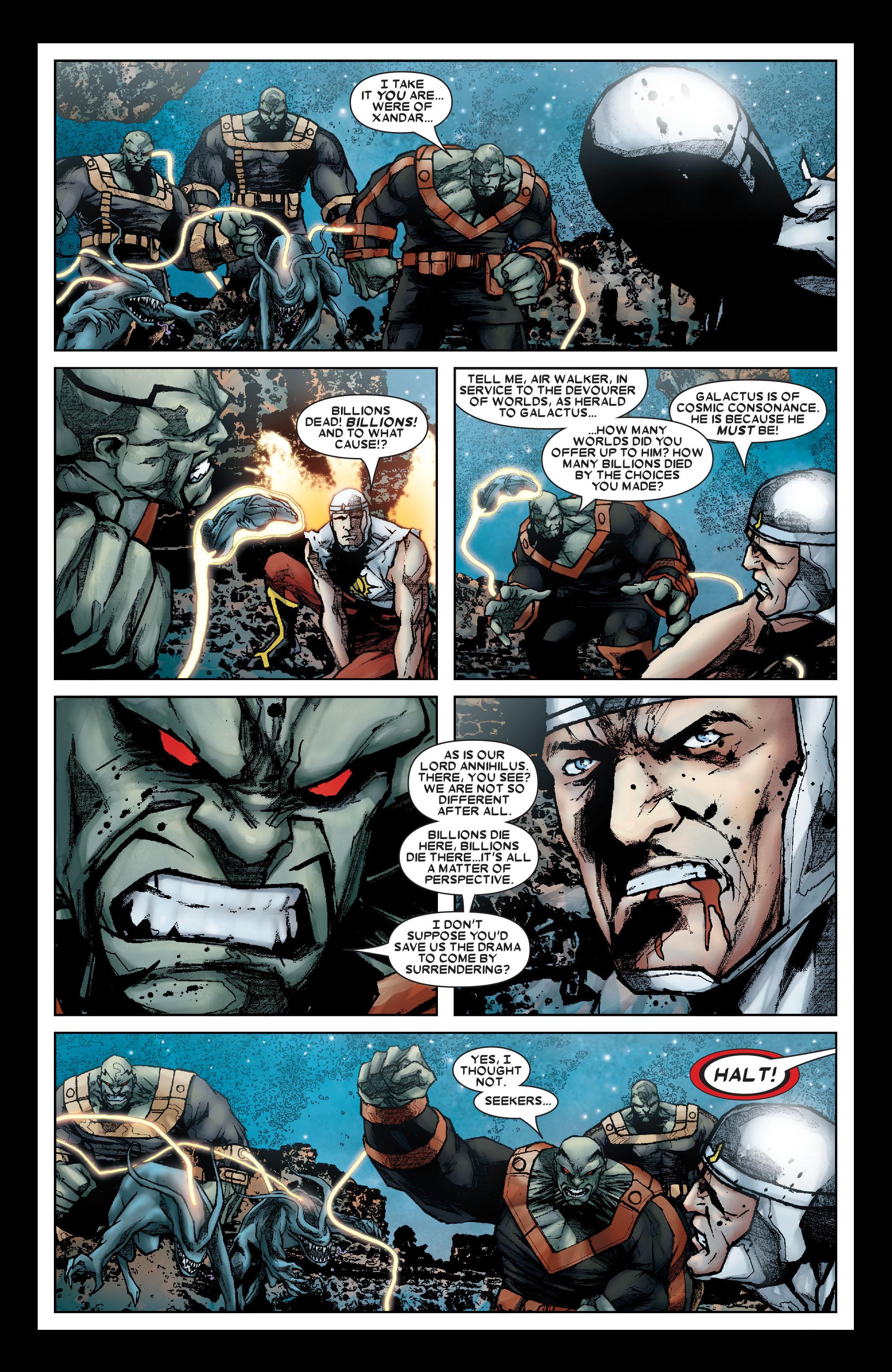 Read online Annihilation: Silver Surfer comic -  Issue #1 - 7