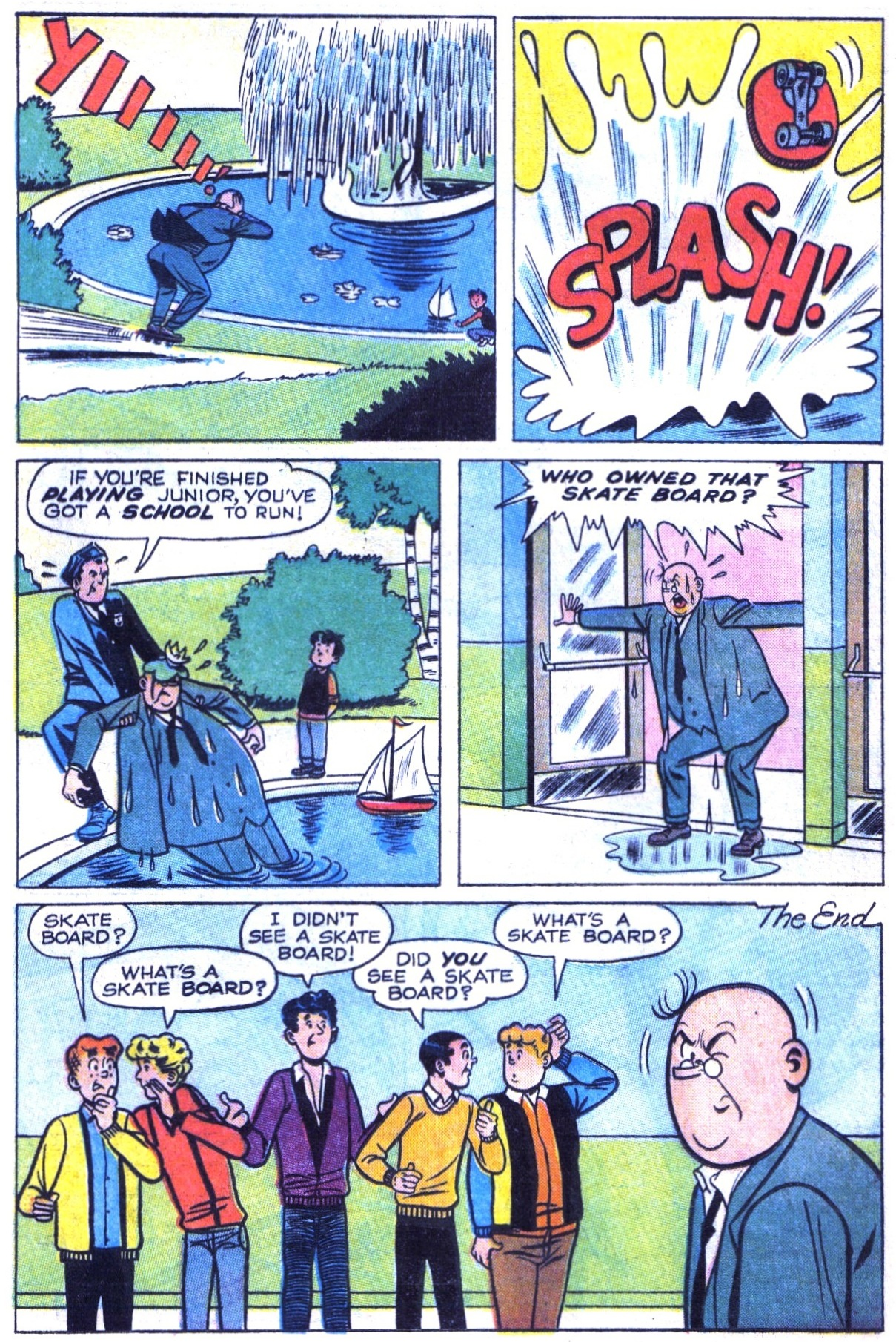 Read online Archie (1960) comic -  Issue #154 - 8