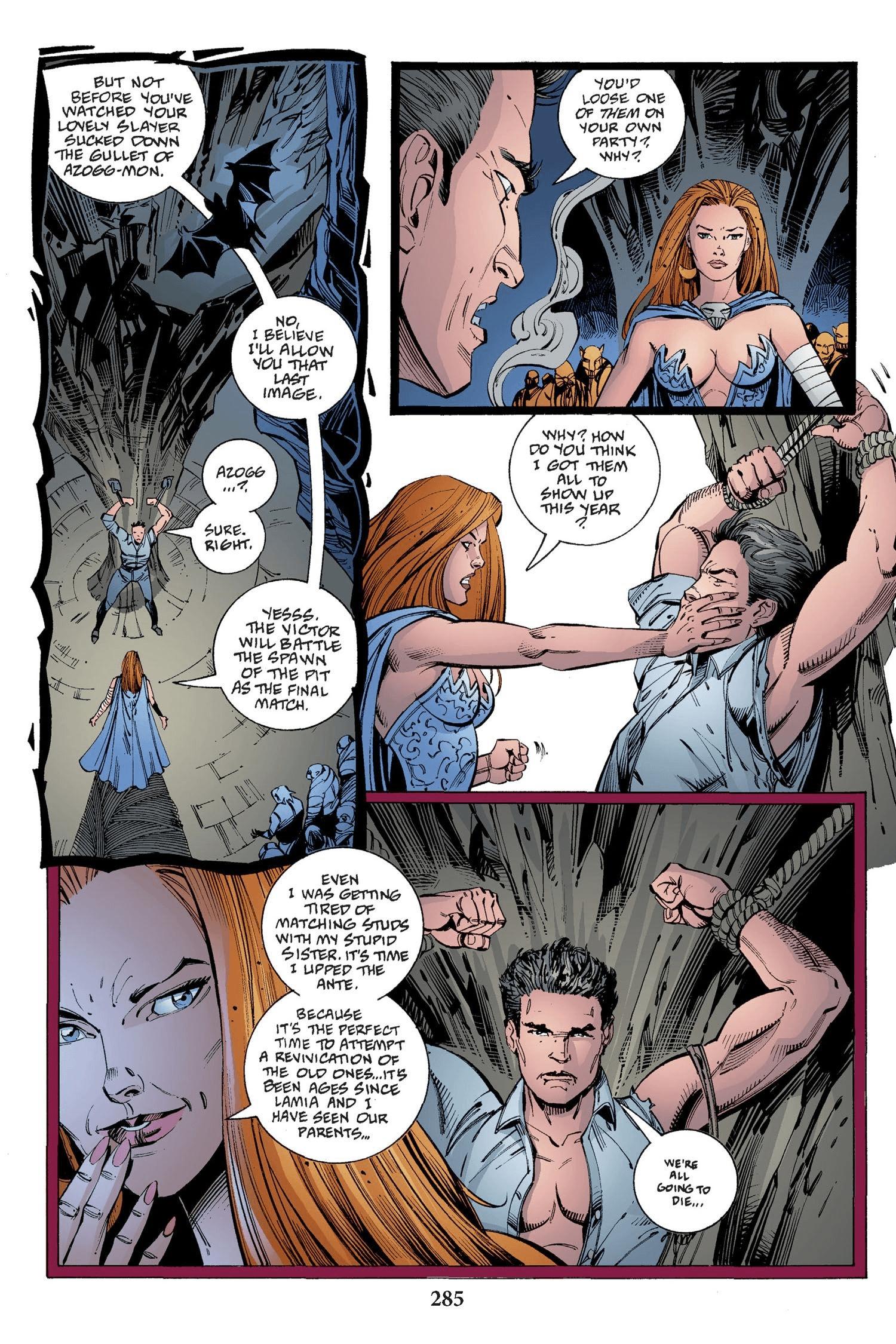 Read online Buffy the Vampire Slayer: Omnibus comic -  Issue # TPB 2 - 277