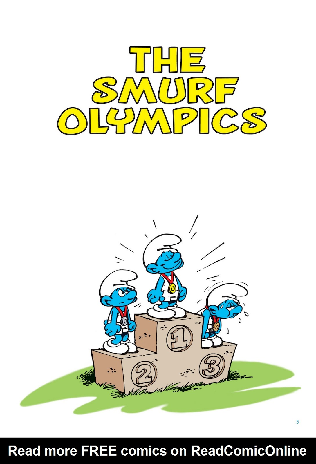 Read online The Smurfs comic -  Issue #11 - 5