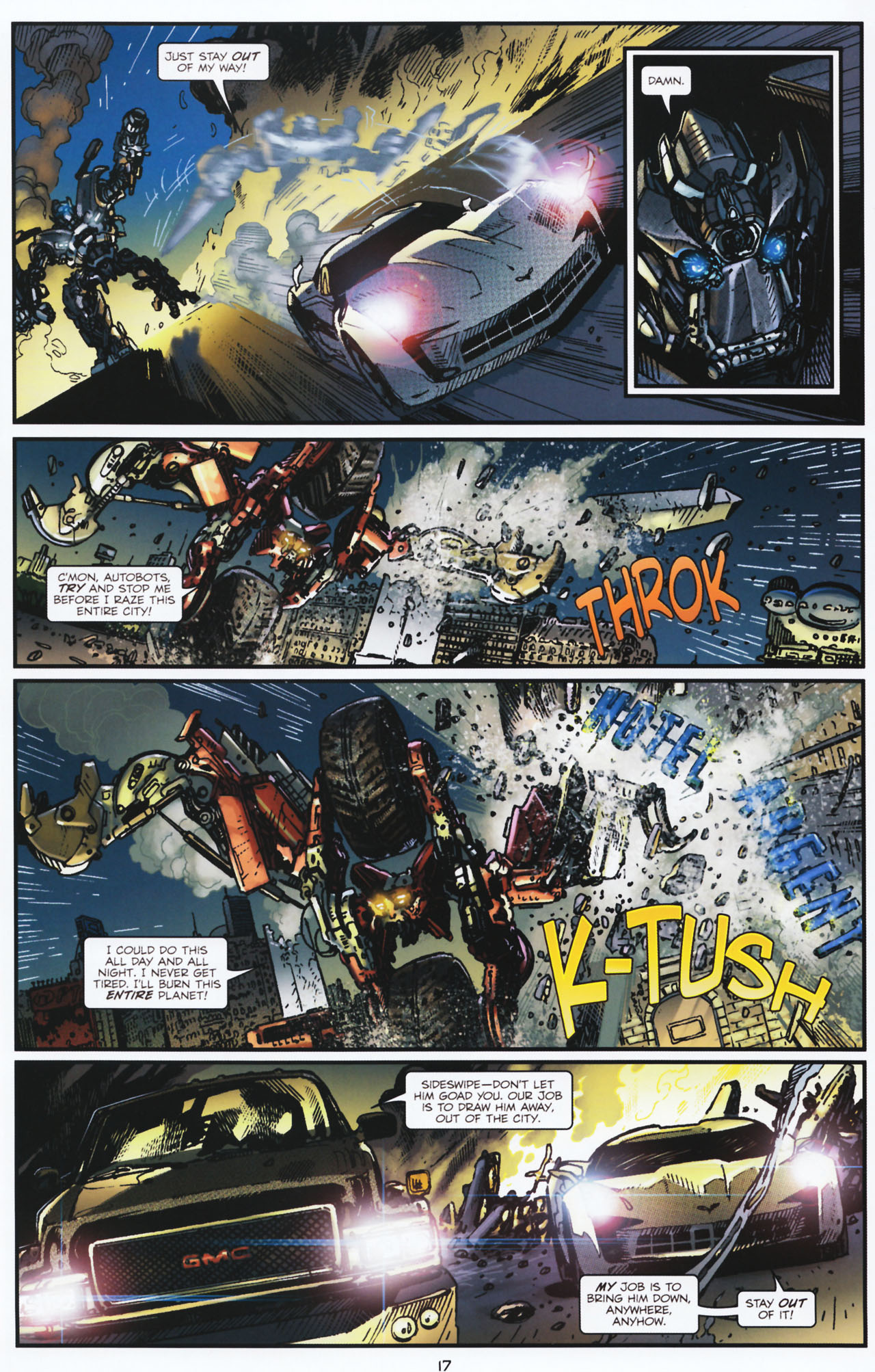 Read online Transformers: Tales of The Fallen comic -  Issue #2 - 18
