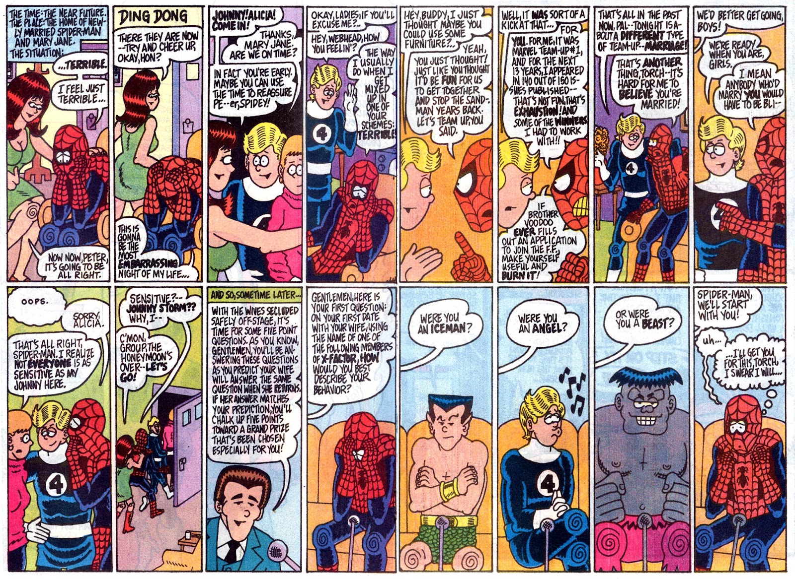 Fred Hembeck Sells the Marvel Universe issue Full - Page 13